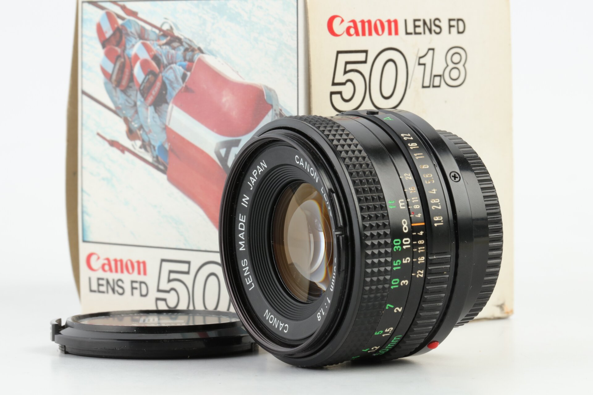 Canon FD 50mm 1,8 1980 Winter Olympic Edition