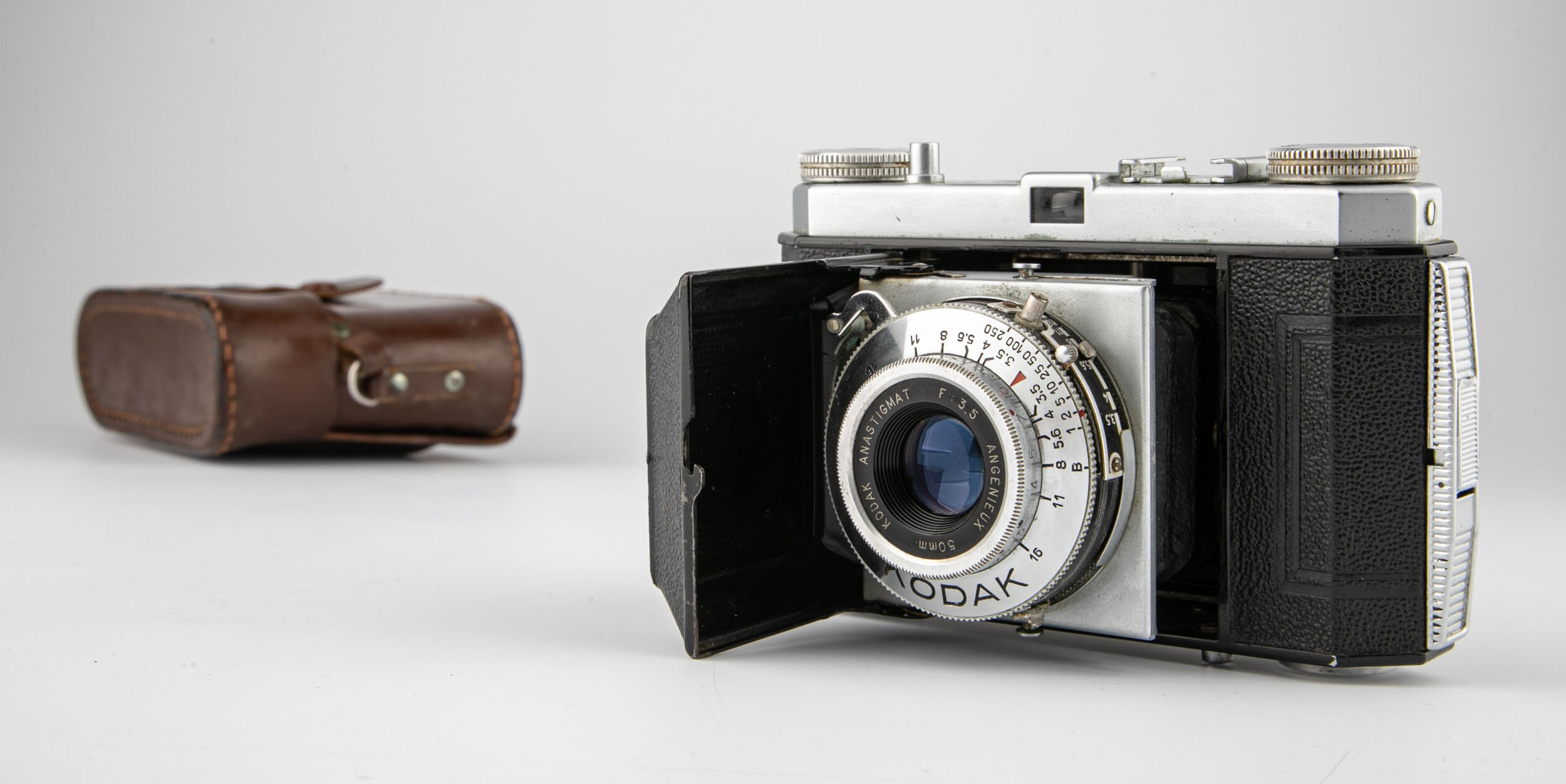 Kodak Retinette  Angenieux  3,5 / 50mm Klappkamera
