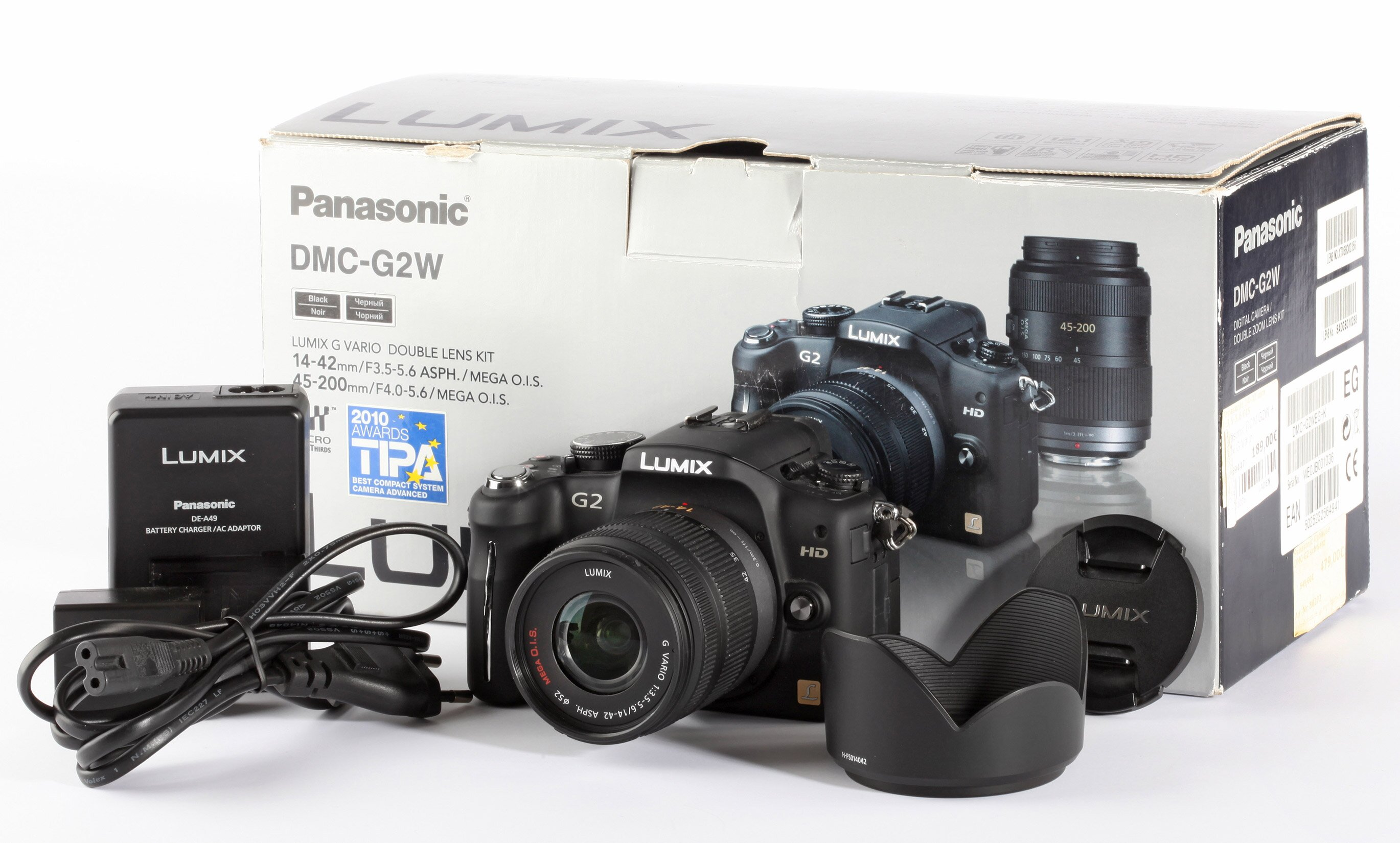 Panasonic DCM G2W Lumix G Vario 3,5-5,6/14-42 ASPH