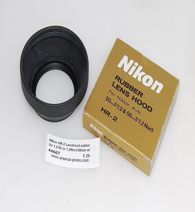 Nikon HR-2 Lenshood rubber for 1,2/55 or 1,2Noct/5