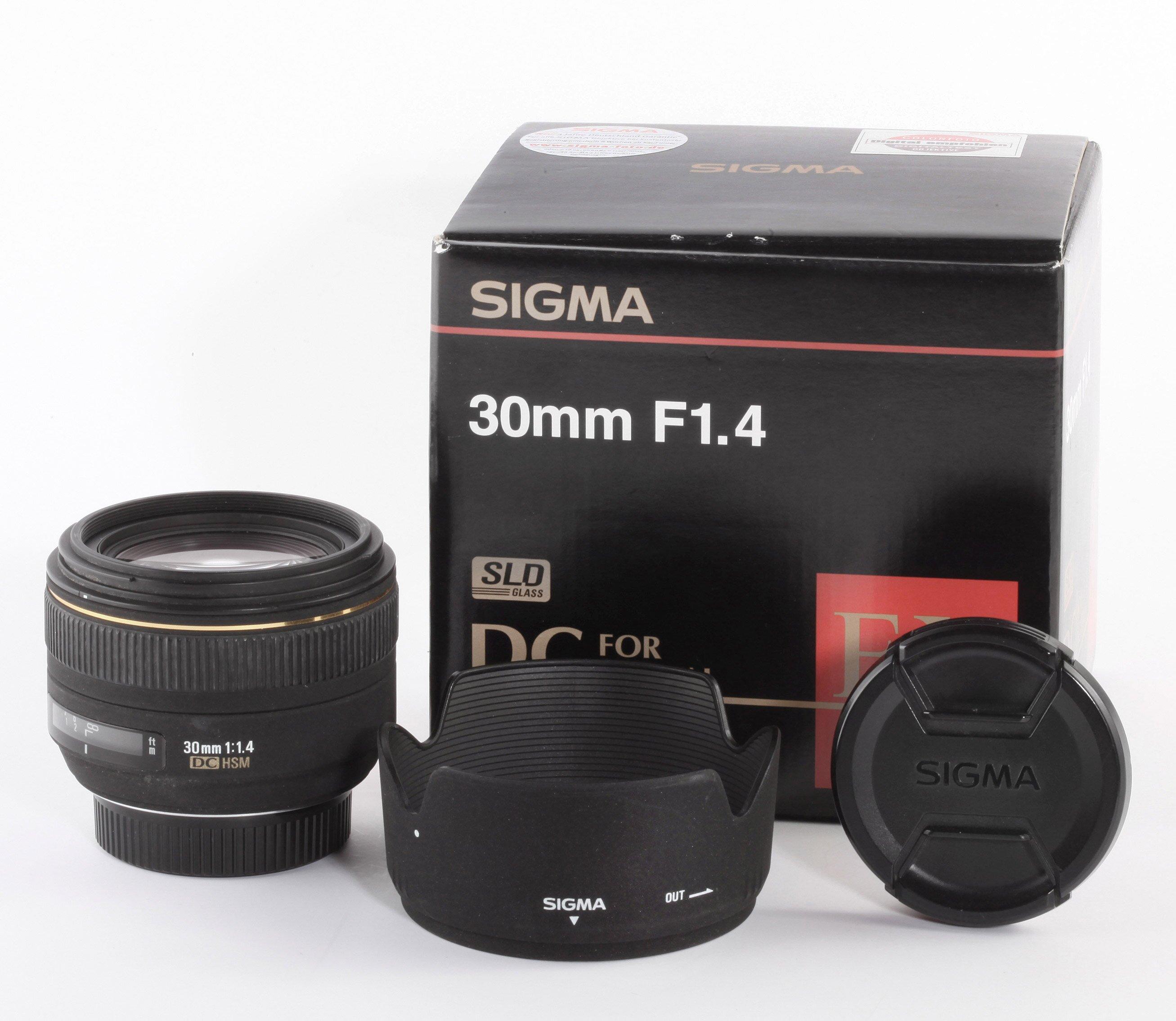 Sigma EX 30mm/1,4 DC HSM f.Nikon
