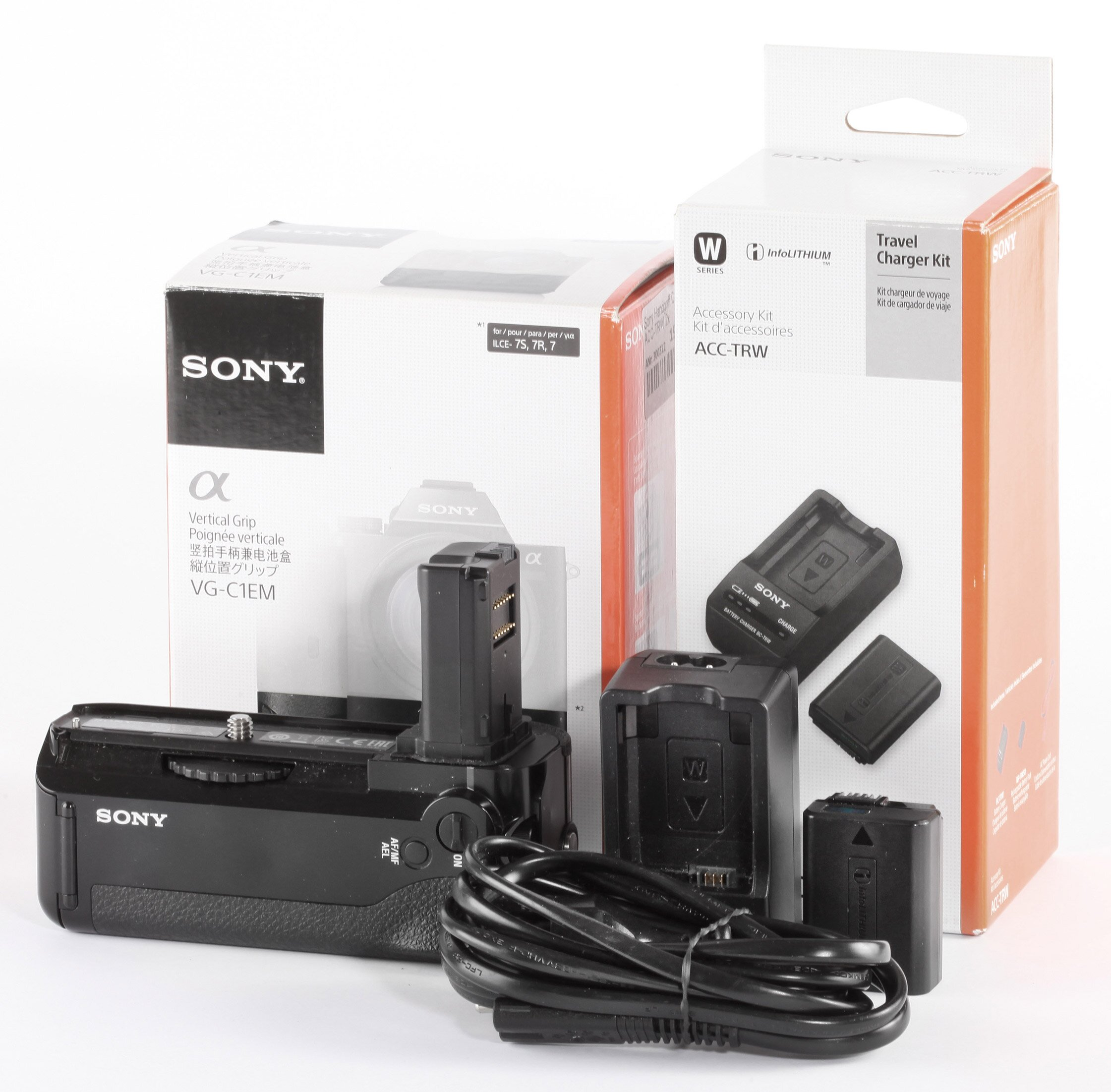 Sony Handgriff C1EM + ACC-TRW 2x