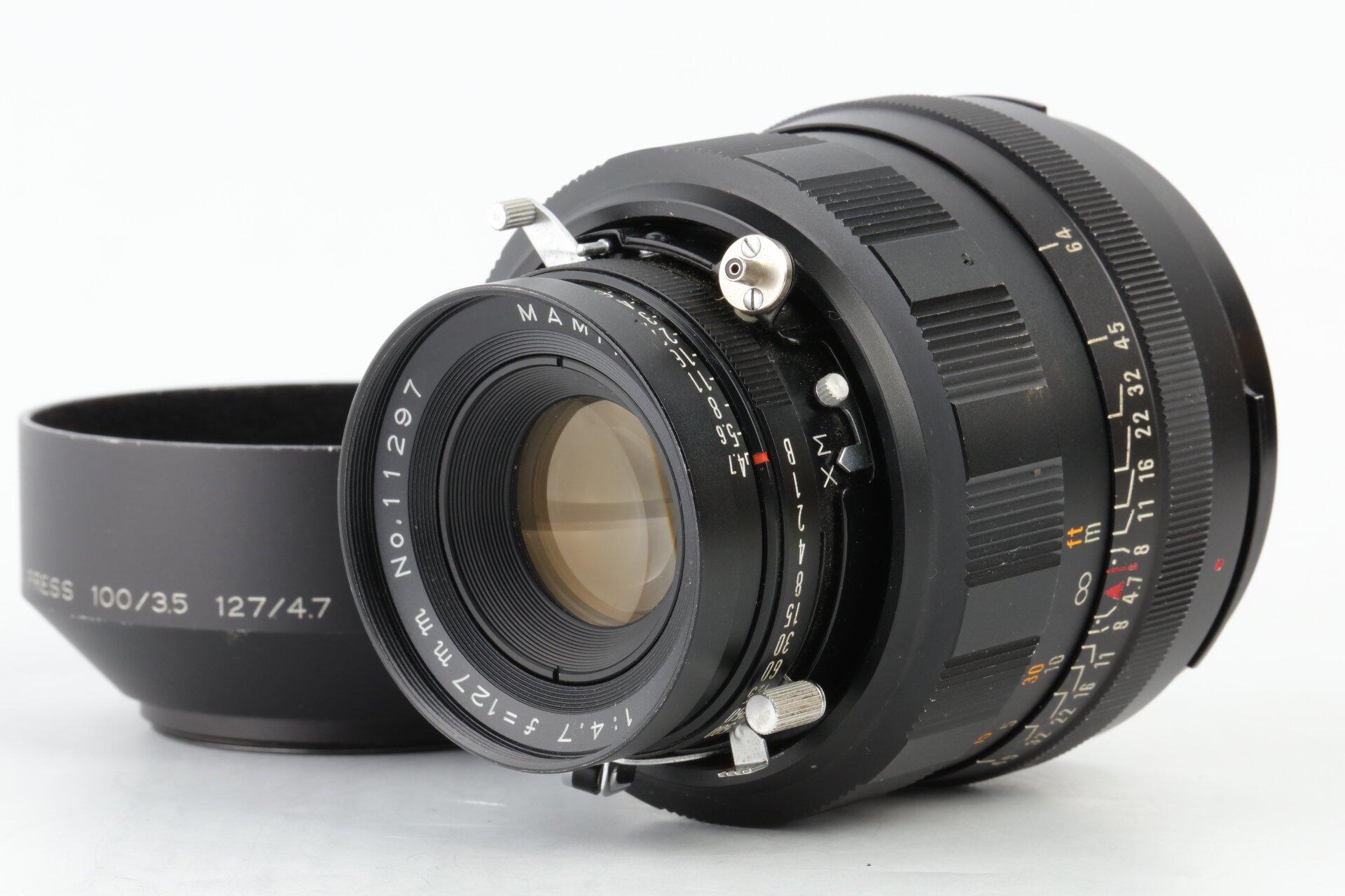 Mamiya Sekor P 4,7/127mm für Mamiya Press
