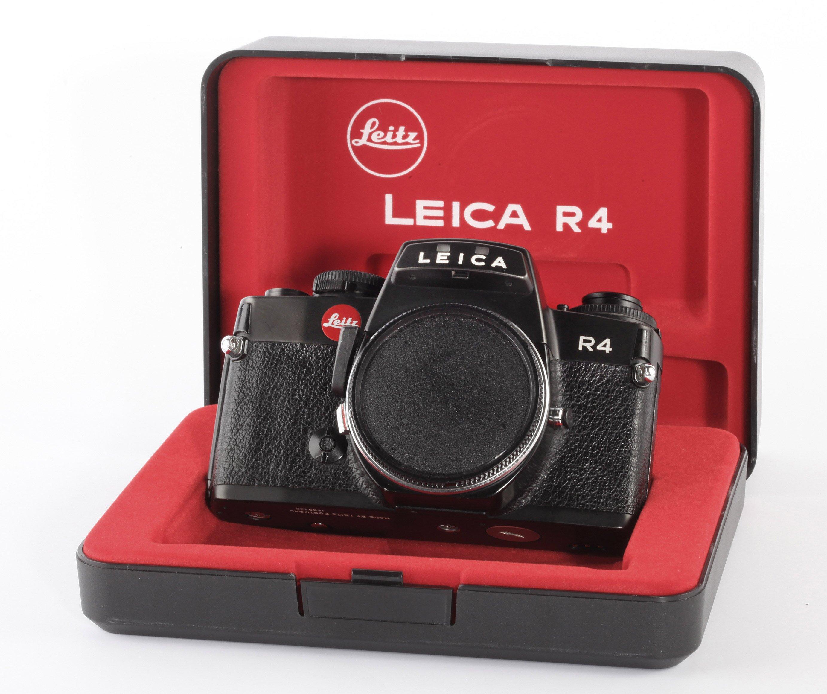 Leica R4 black