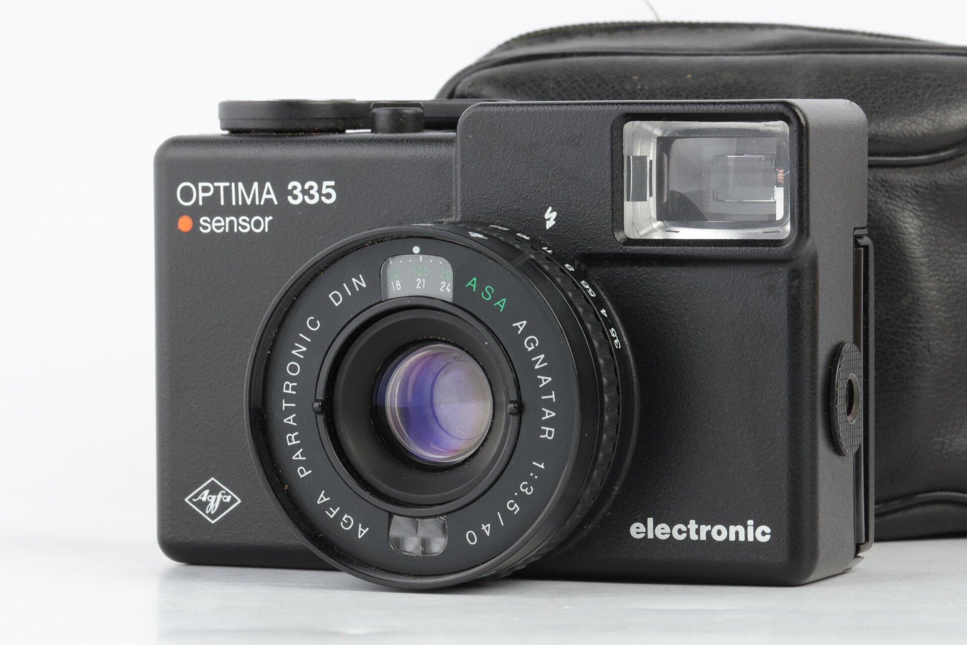 Agfa Optima 335 sensor mit 40mm 3,5 Agnatar