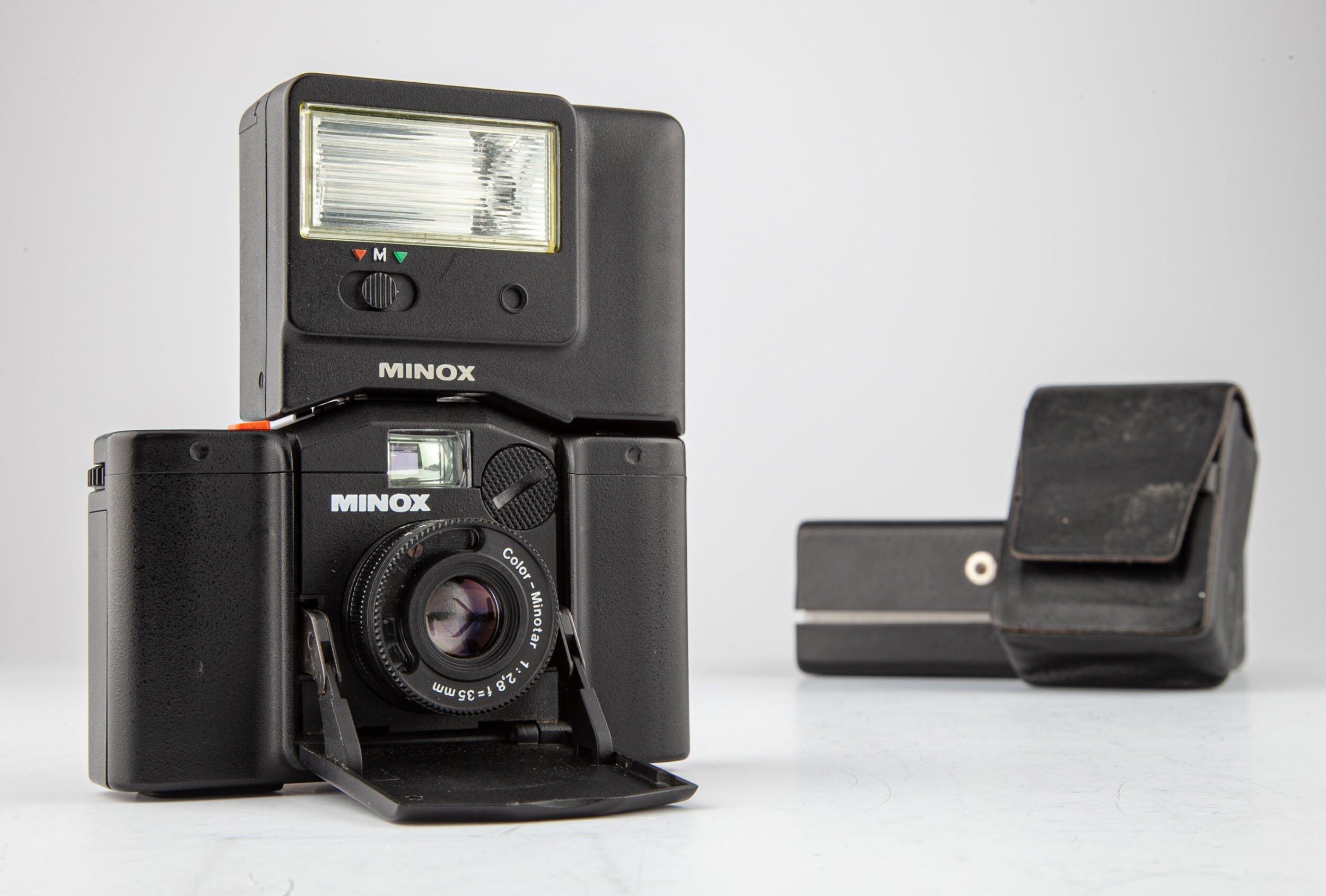 Minox 35GL mit Blitz FC35
