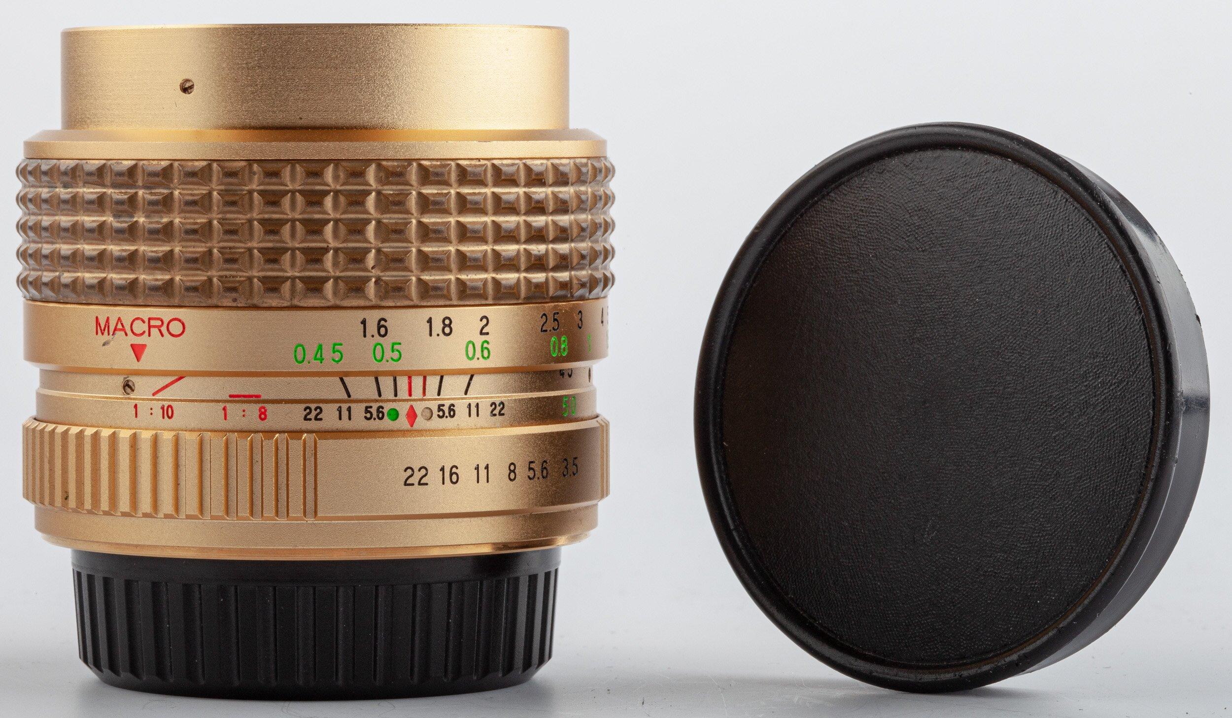 Pentax PK Sicor 28-50mm F3.5-4.5 Gold Edition