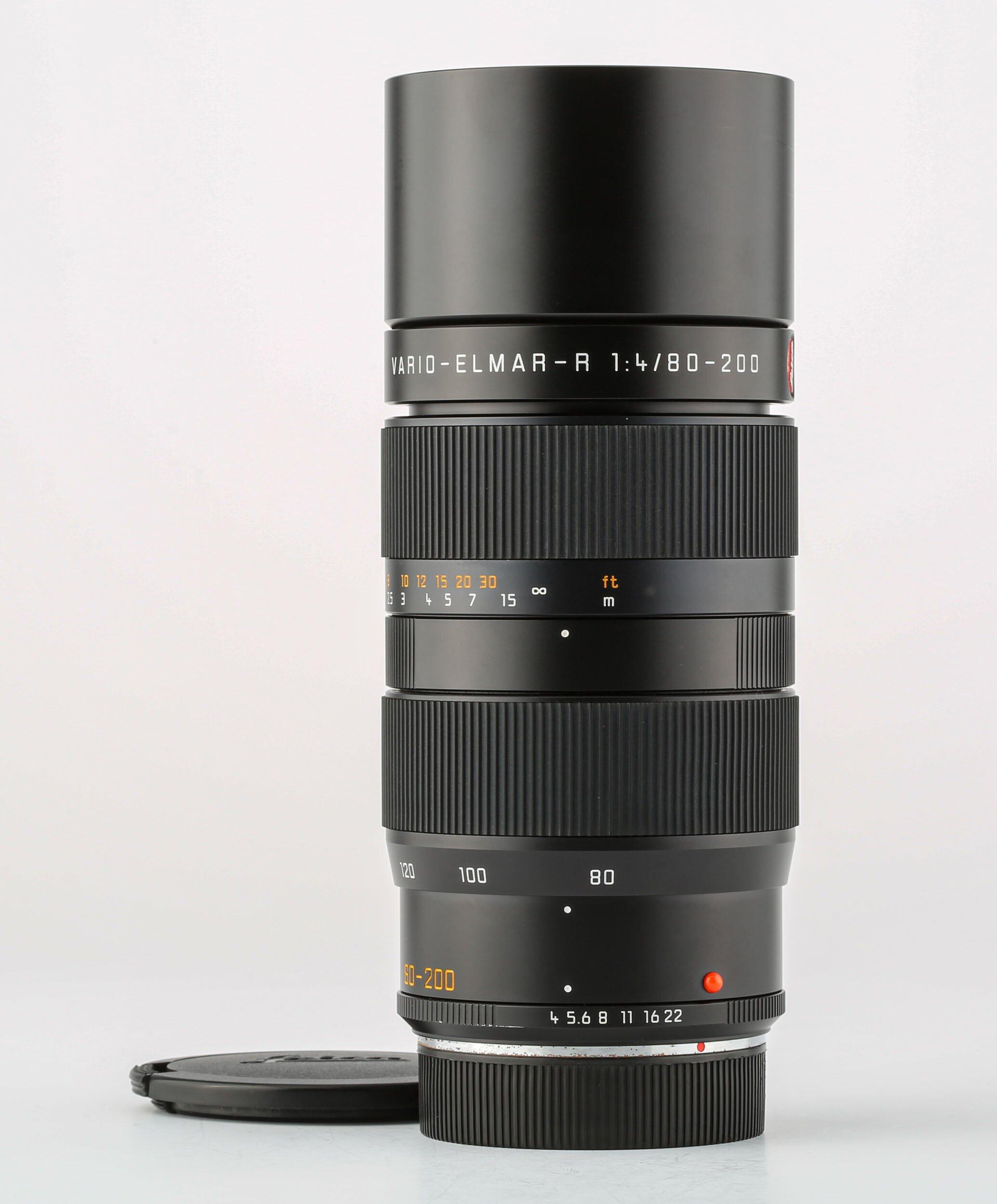Leitz Leica R Vario Elmar 80-200mm F4.0 Black