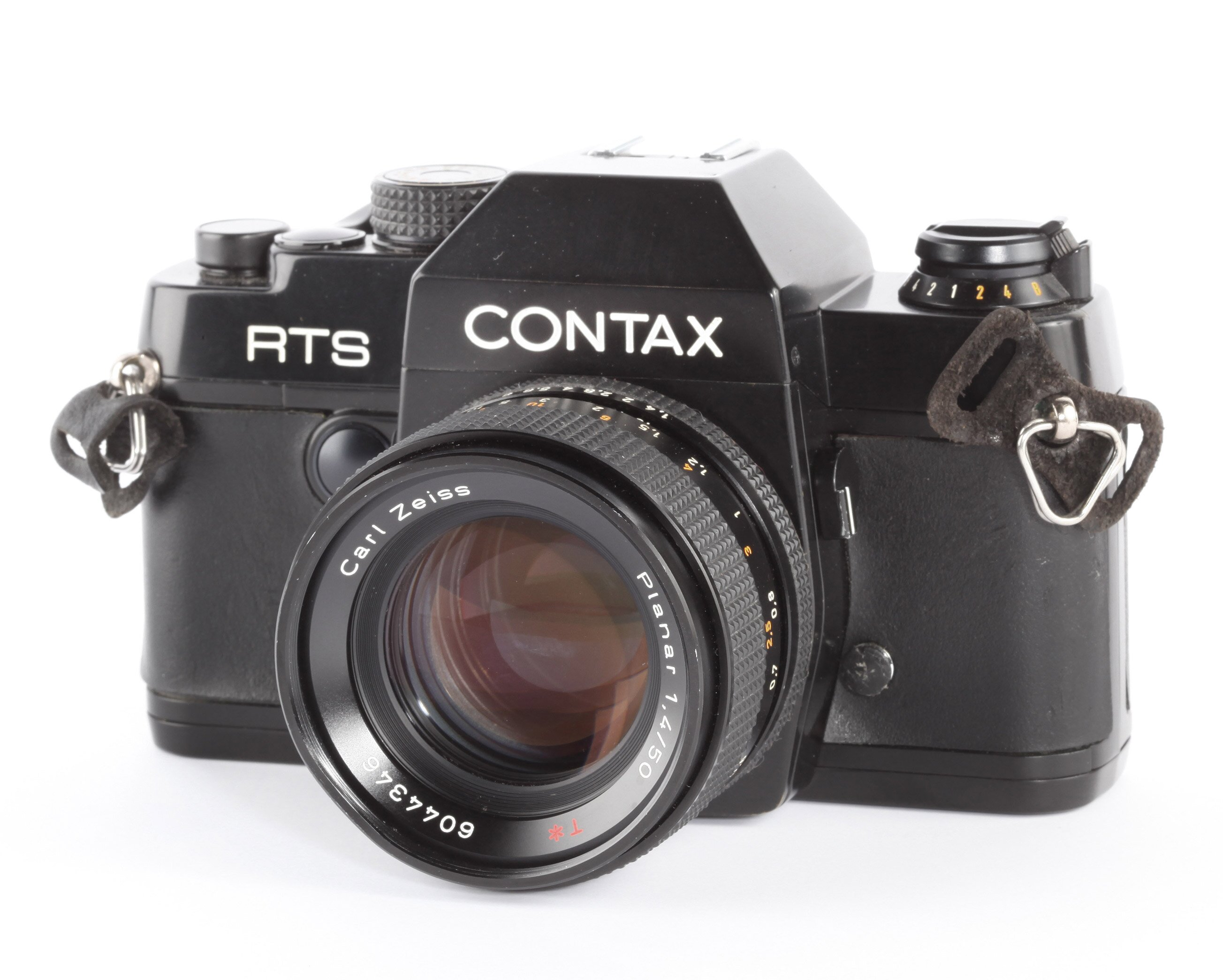 Contax RTS + Carl Zeiss Planar 1,4/50mm T*