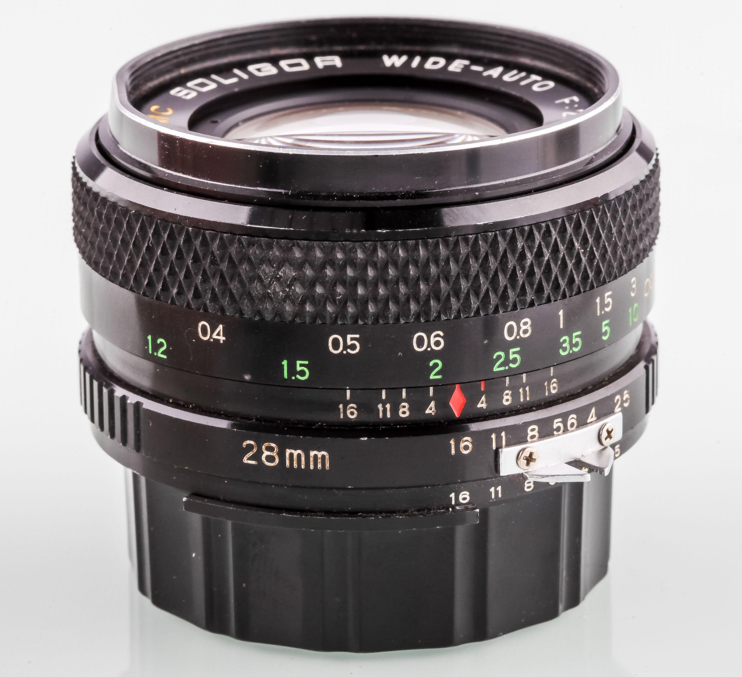 Soligor f.Nikon Wide-Auto 2,5/28mm MC