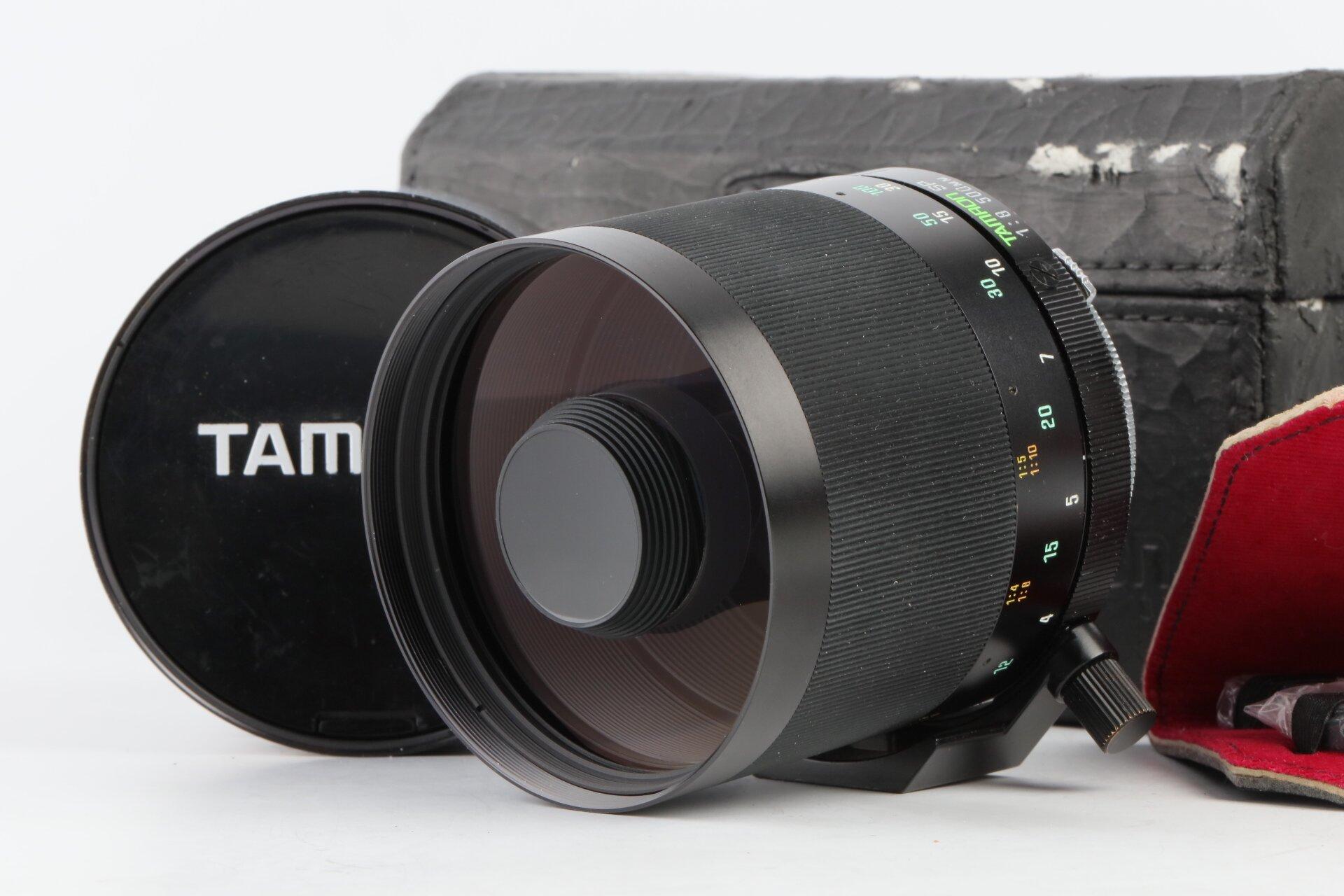 Tamron SP 500mm/8 Spiegeltele Adaptall Olympus OM