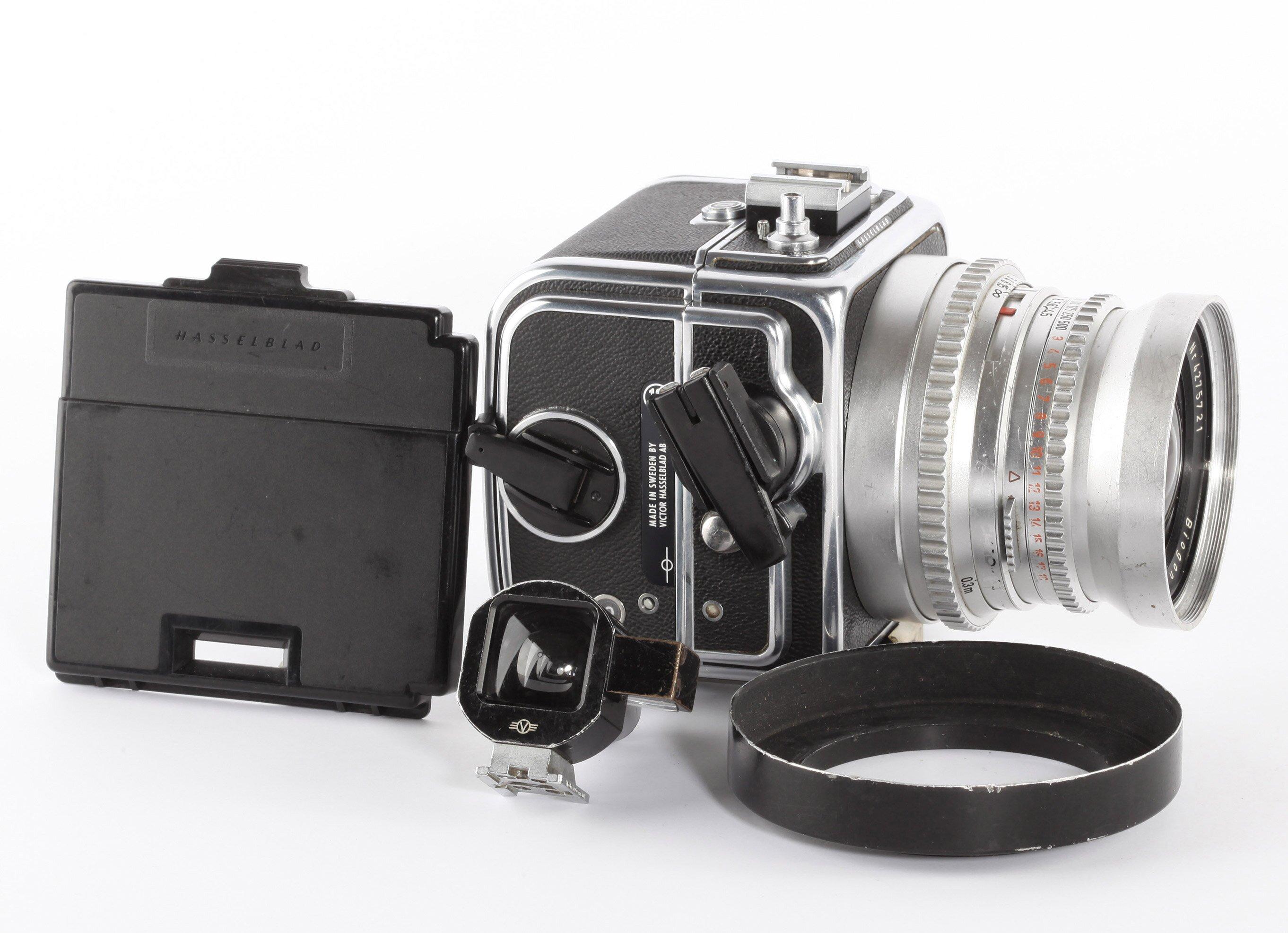 Hasselblad SWC/M Carl Zeiss Biogon 4,5/38mm chrom