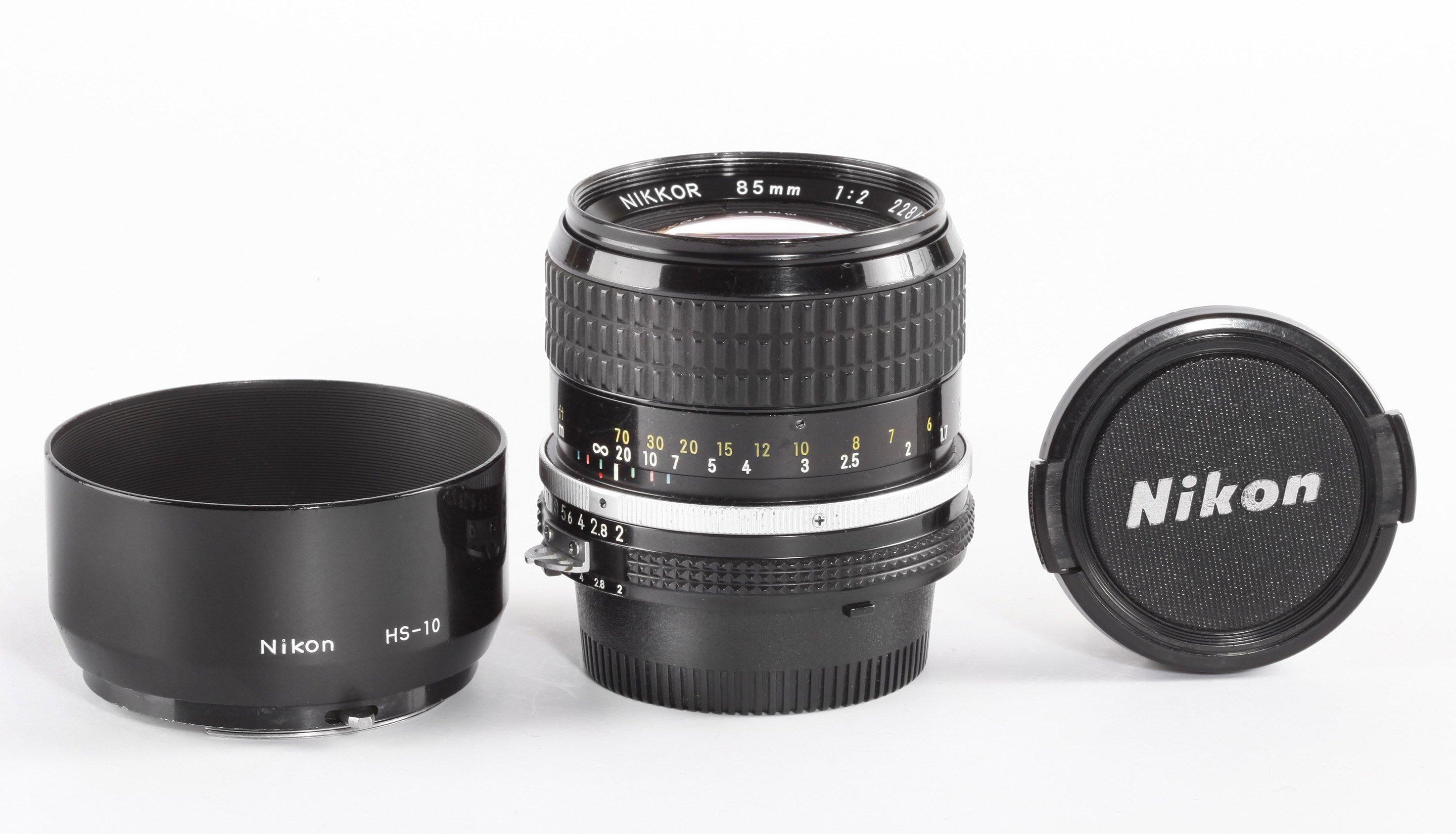 Nikon Nikkor AIS 85mm/2,0