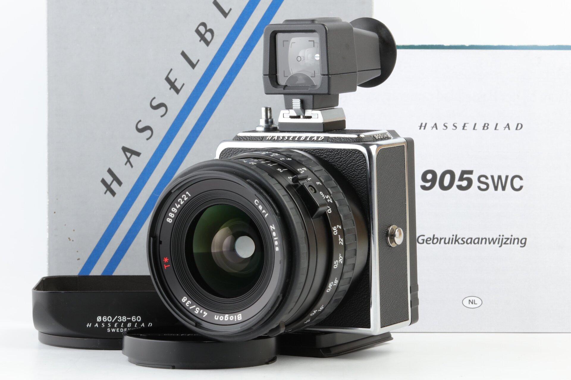 Hasselblad 905 SWC Carl Zeiss Biogon 4,5/38mm CFi T*