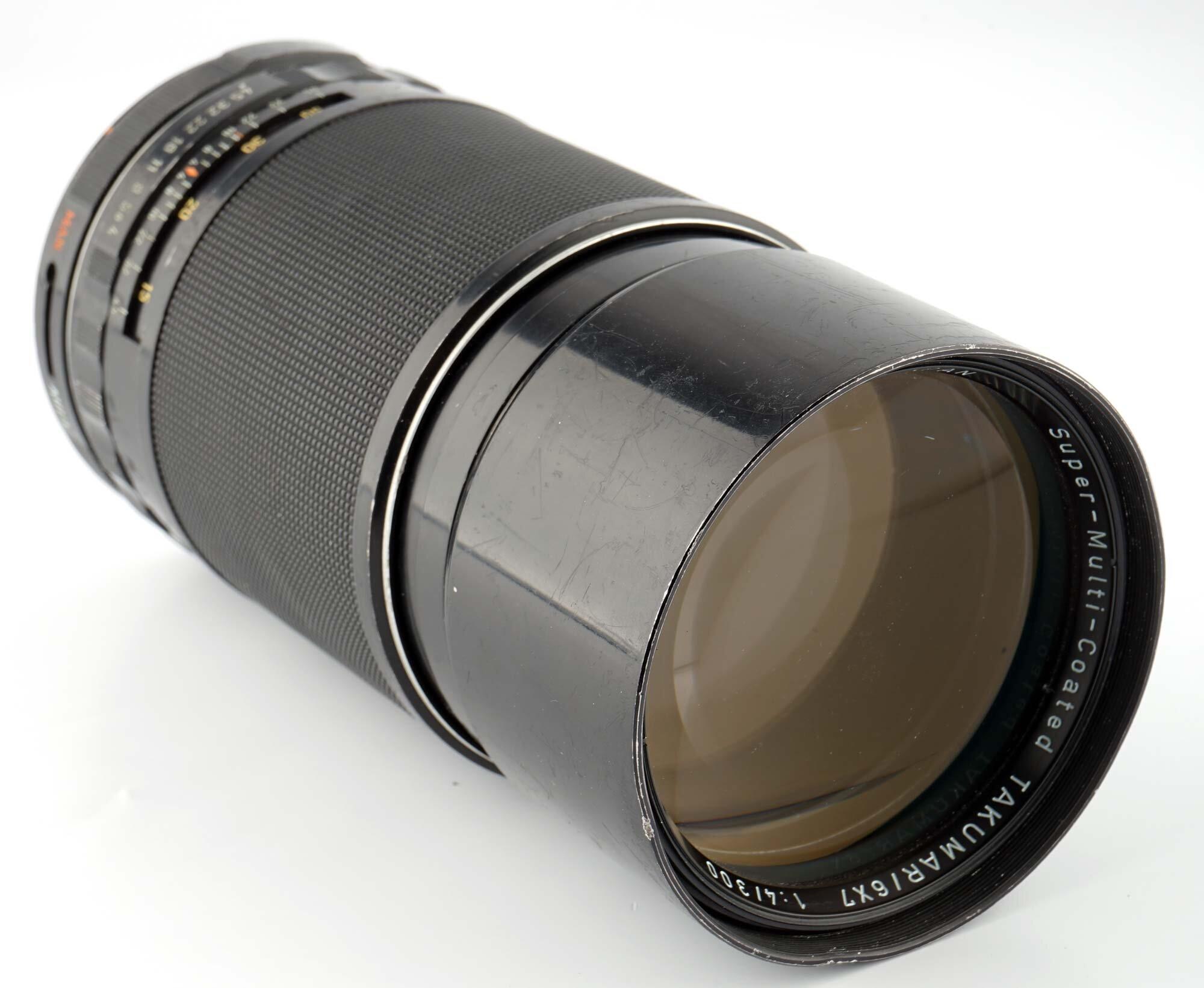 Asahi Pentax SMC Takumar / 6x7 1:4,0/300mm