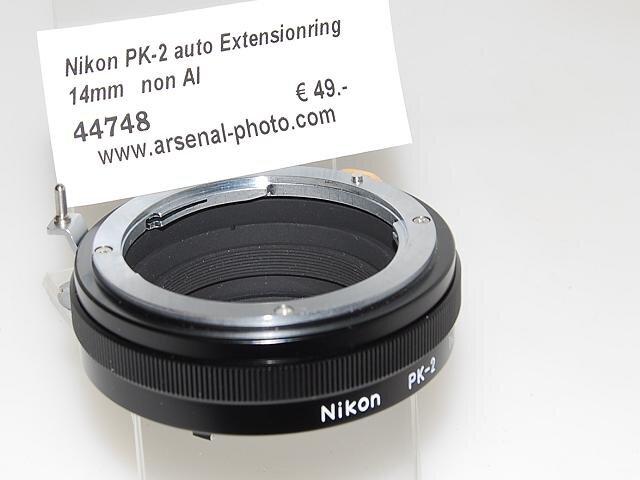 Nikon PK-2 auto Extensionring 14mm   non AI