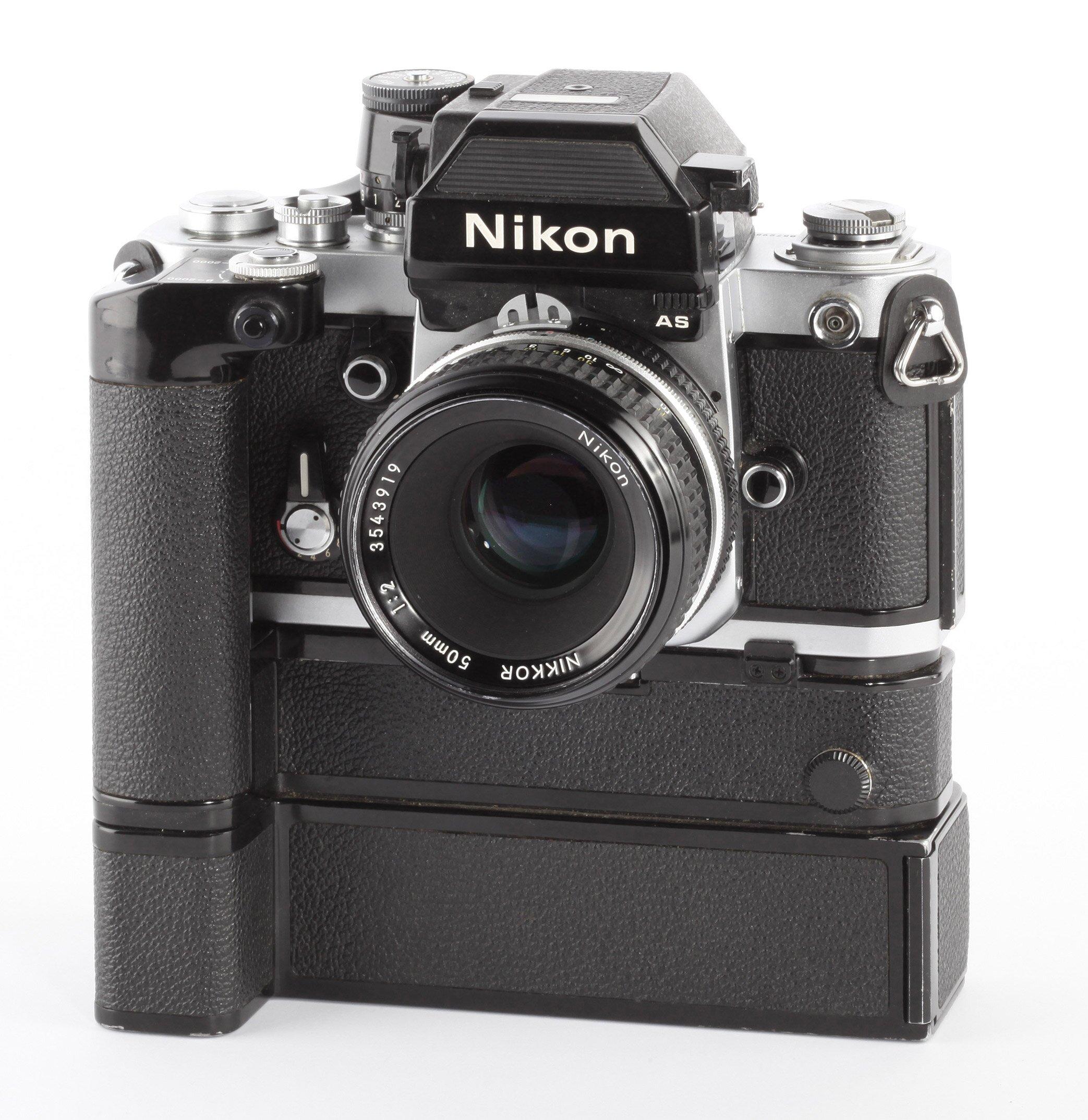 Nikon F2 AS + MB-1 + MD-3 + Nikon 50mm/2,0