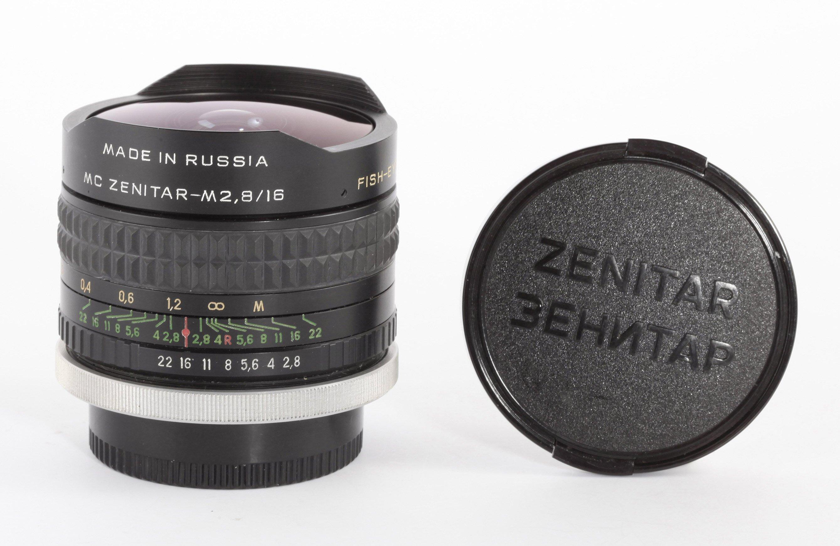 MC Zenitar M 2,8/16mm Canon FD