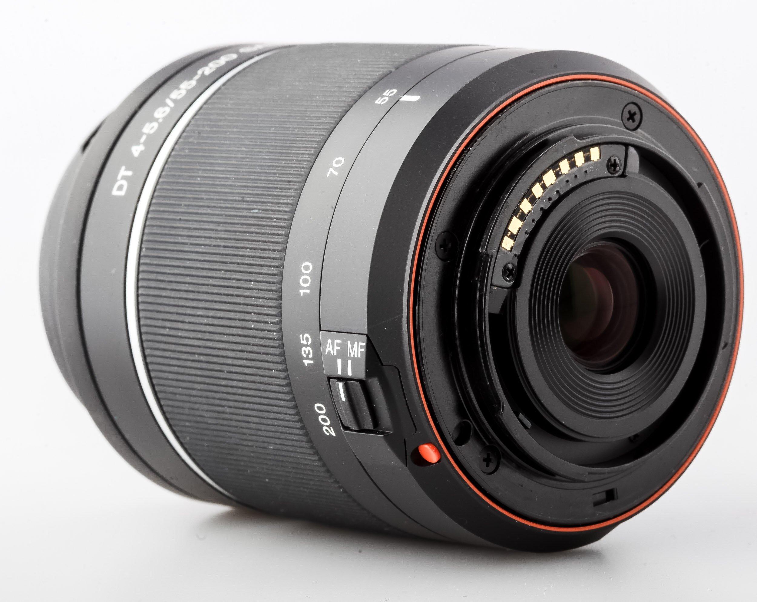 Sony DT 4-5,6/55-200 SAM Sony A-Mount