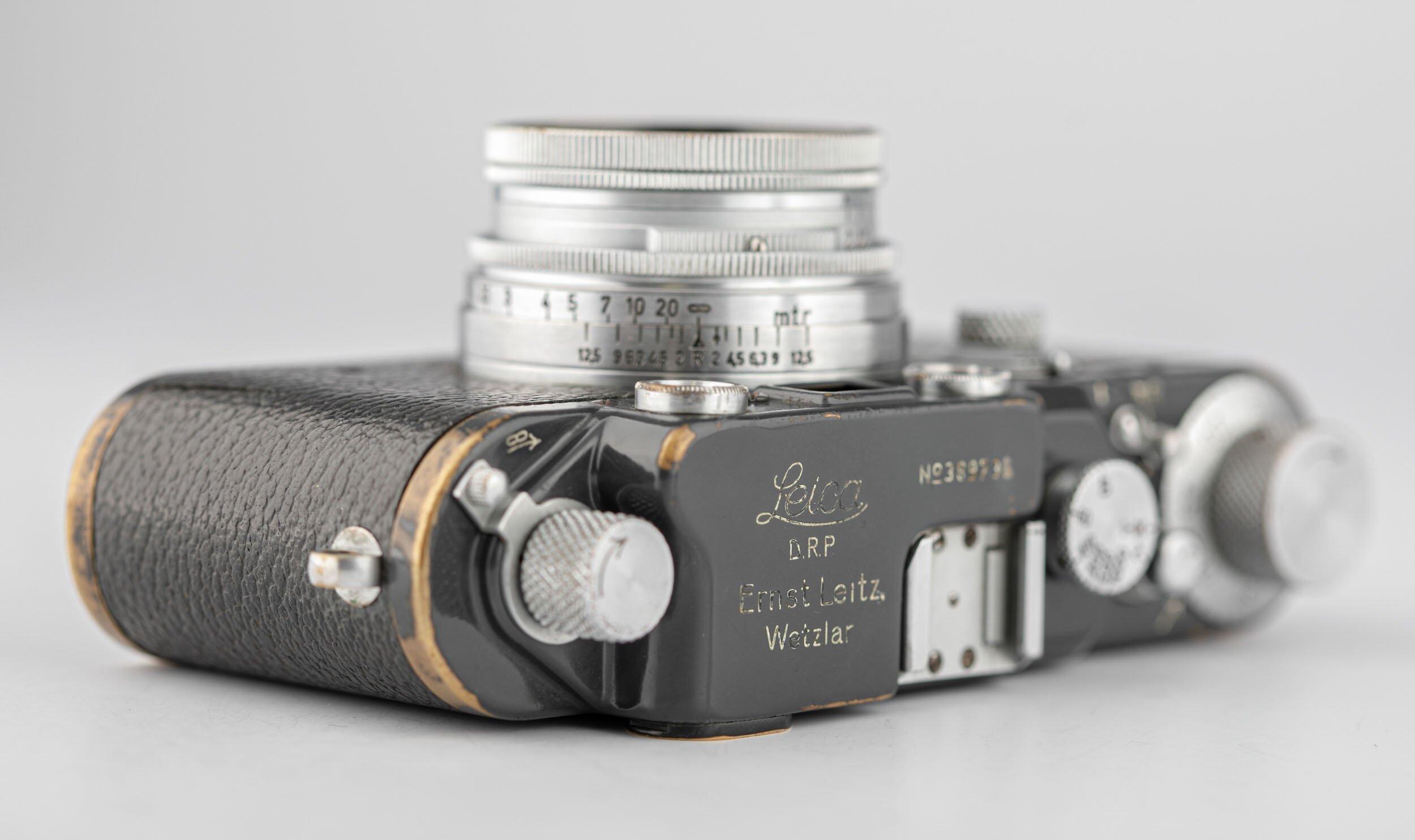 Leica IIIc gray military 69736 + Summitar 5cm F2