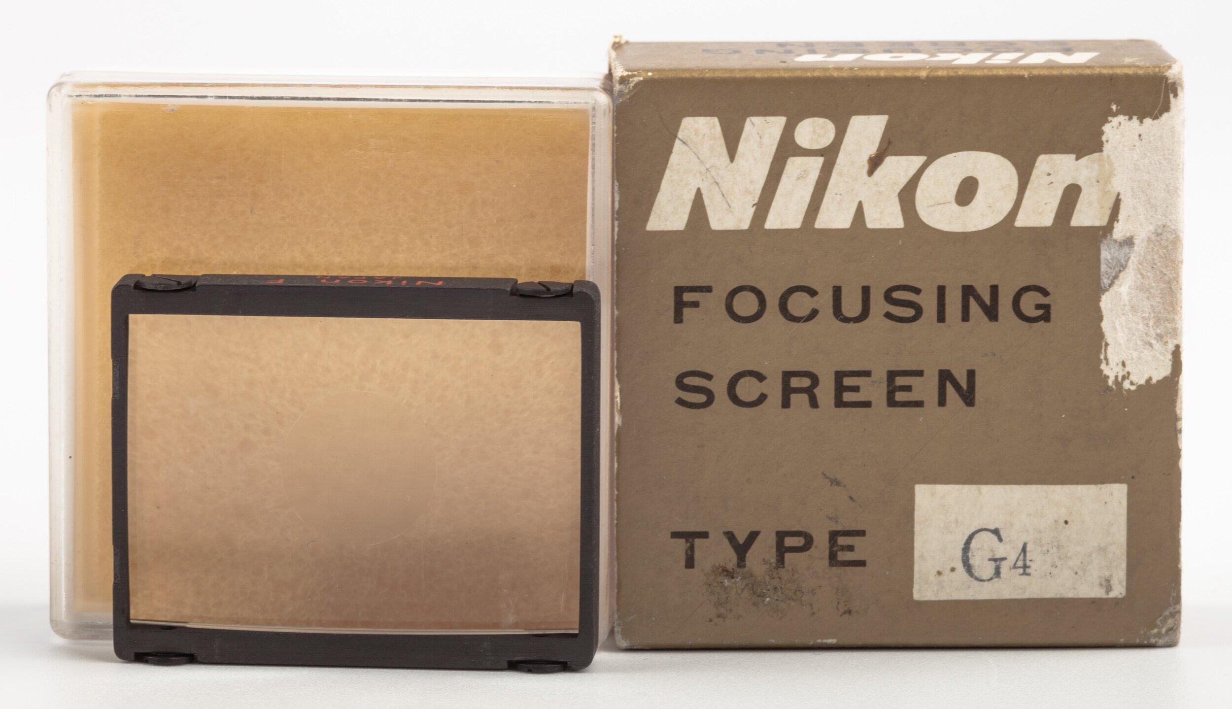 Nikon F Screen G4  for F/F2