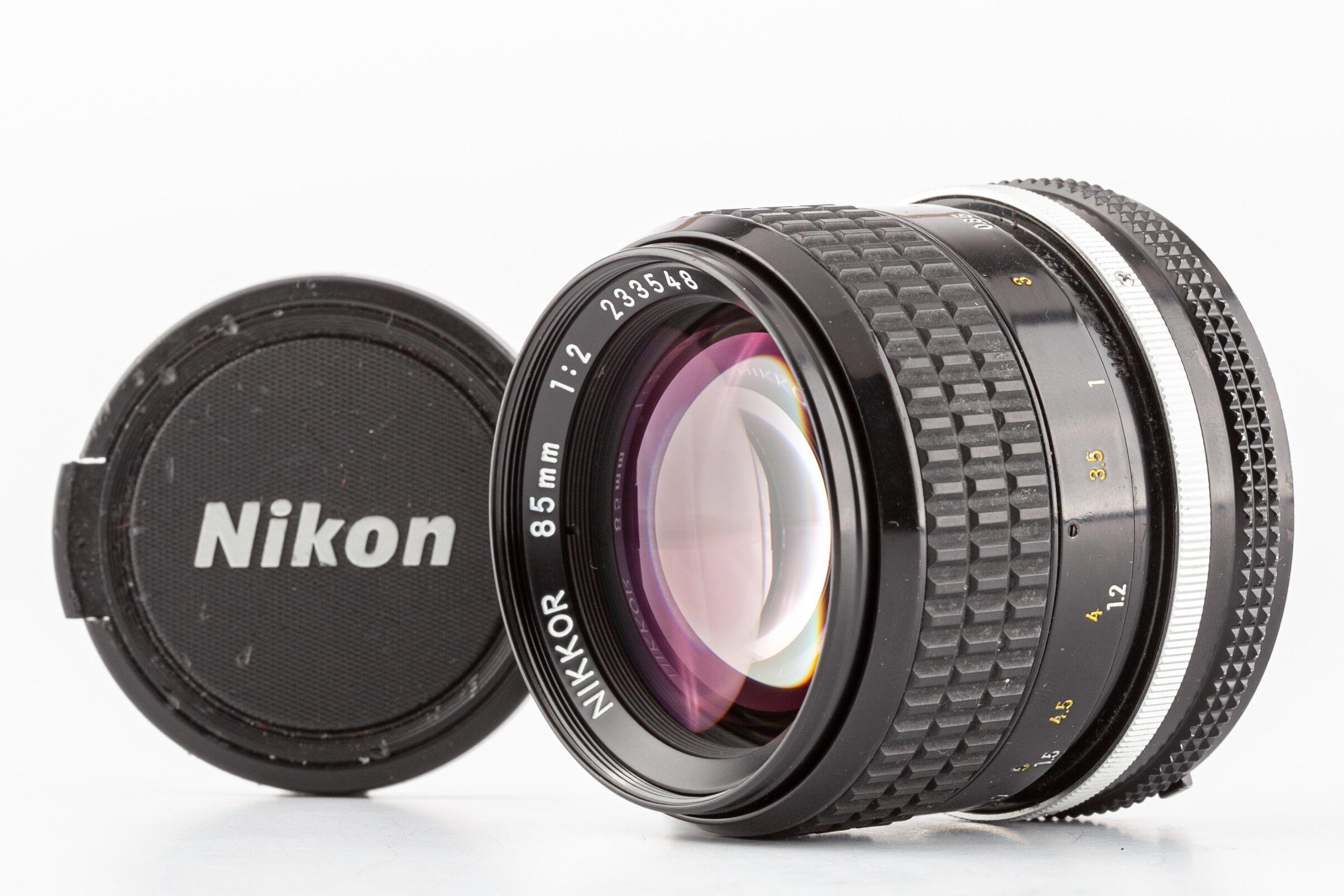 Nikon AI Nikkor 85mm/2 Objektiv