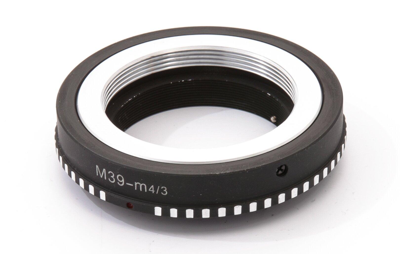 Adapter M39 Objektive an Micro Fourthirds Gehäuse