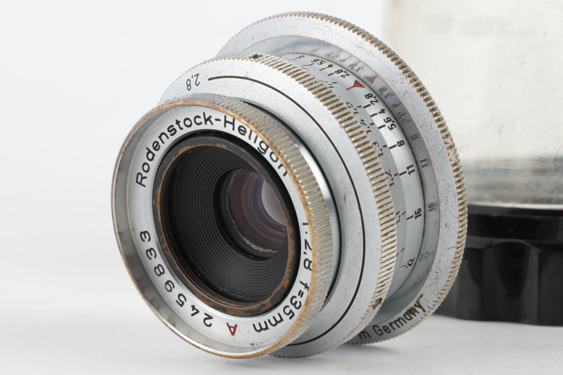 Rodenstock-Heligon 2,8/35mm A M39
