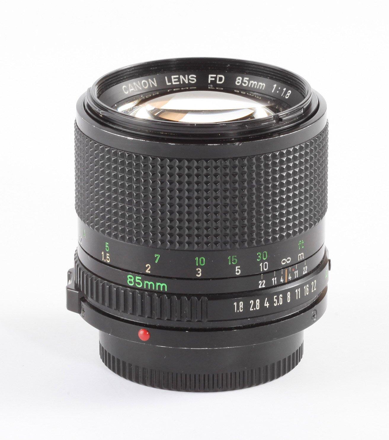 Canon FD 85mm/1,8