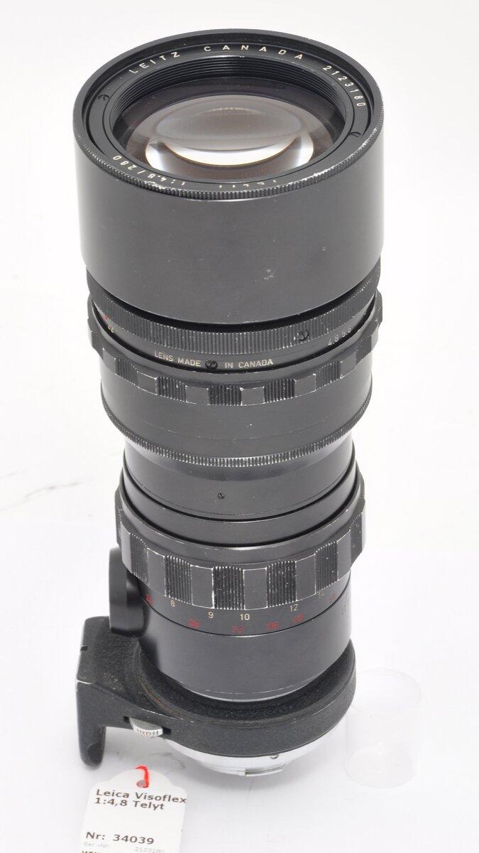 Leitz Leica Visoflex Telyt 280mm 1:4.8 Black