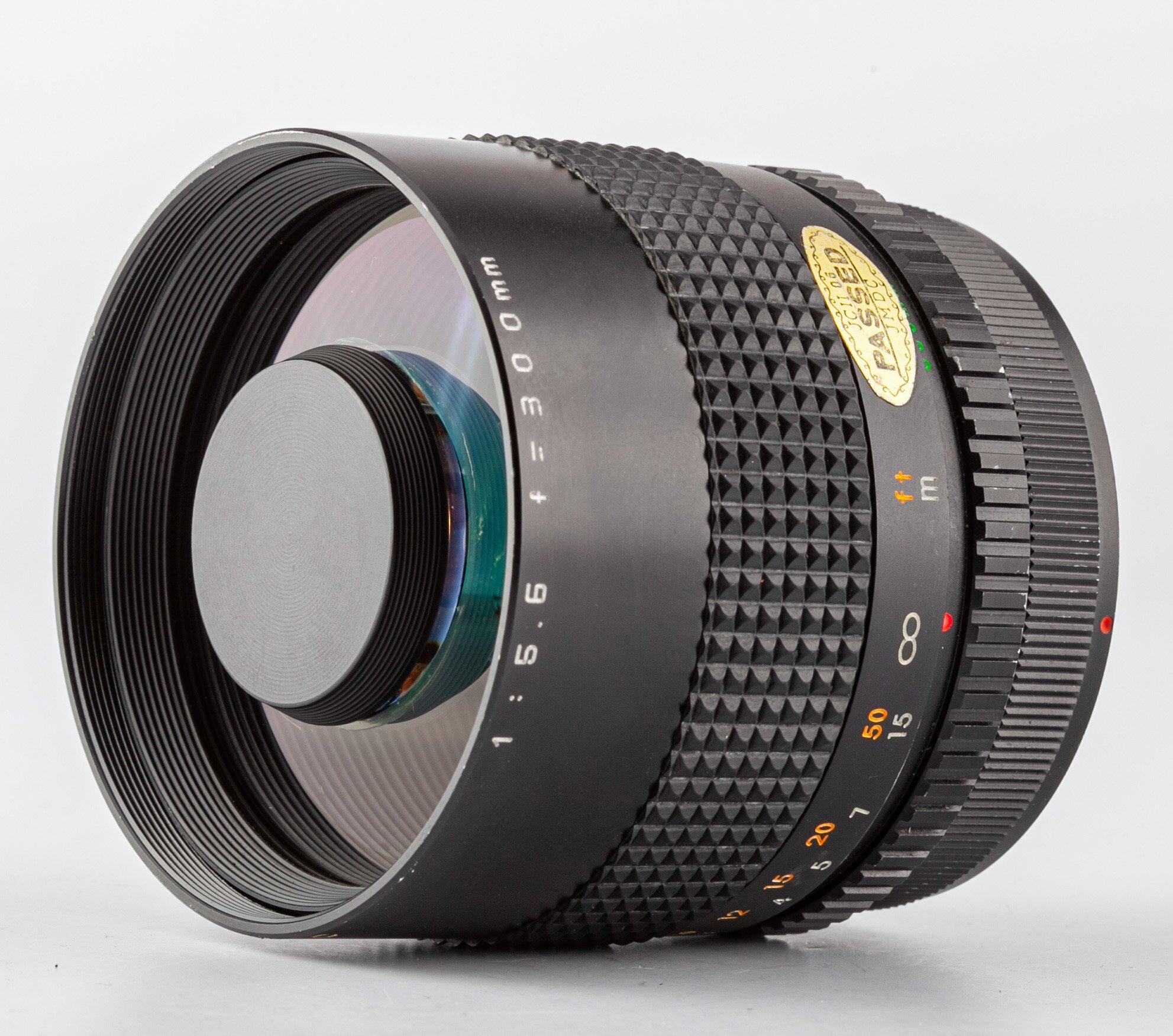 Spiegel-Tele Canon FD MC 5,6/300mm Zykkor