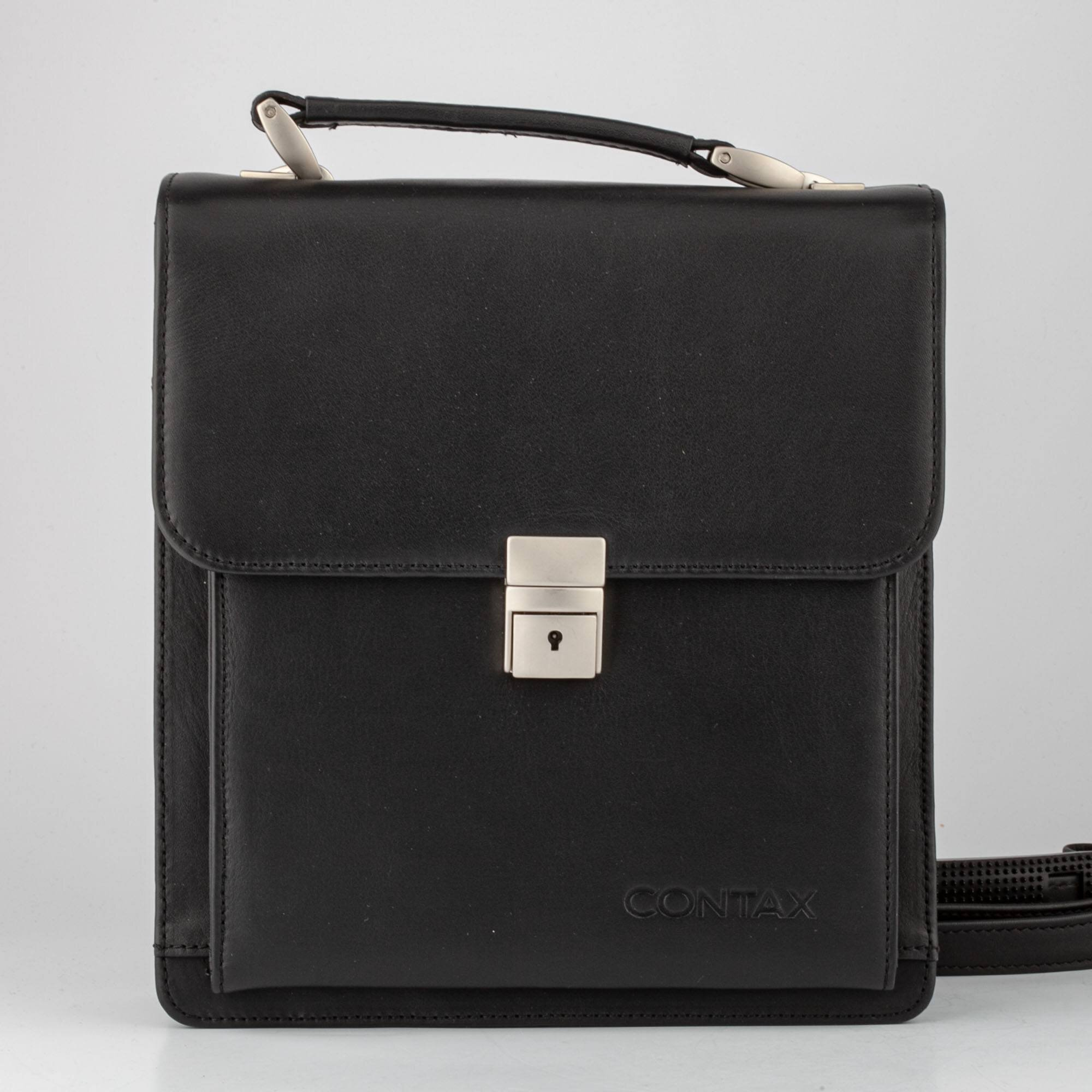 Contax Leather bag black G1 G2 T2  Original Tasche für Contax