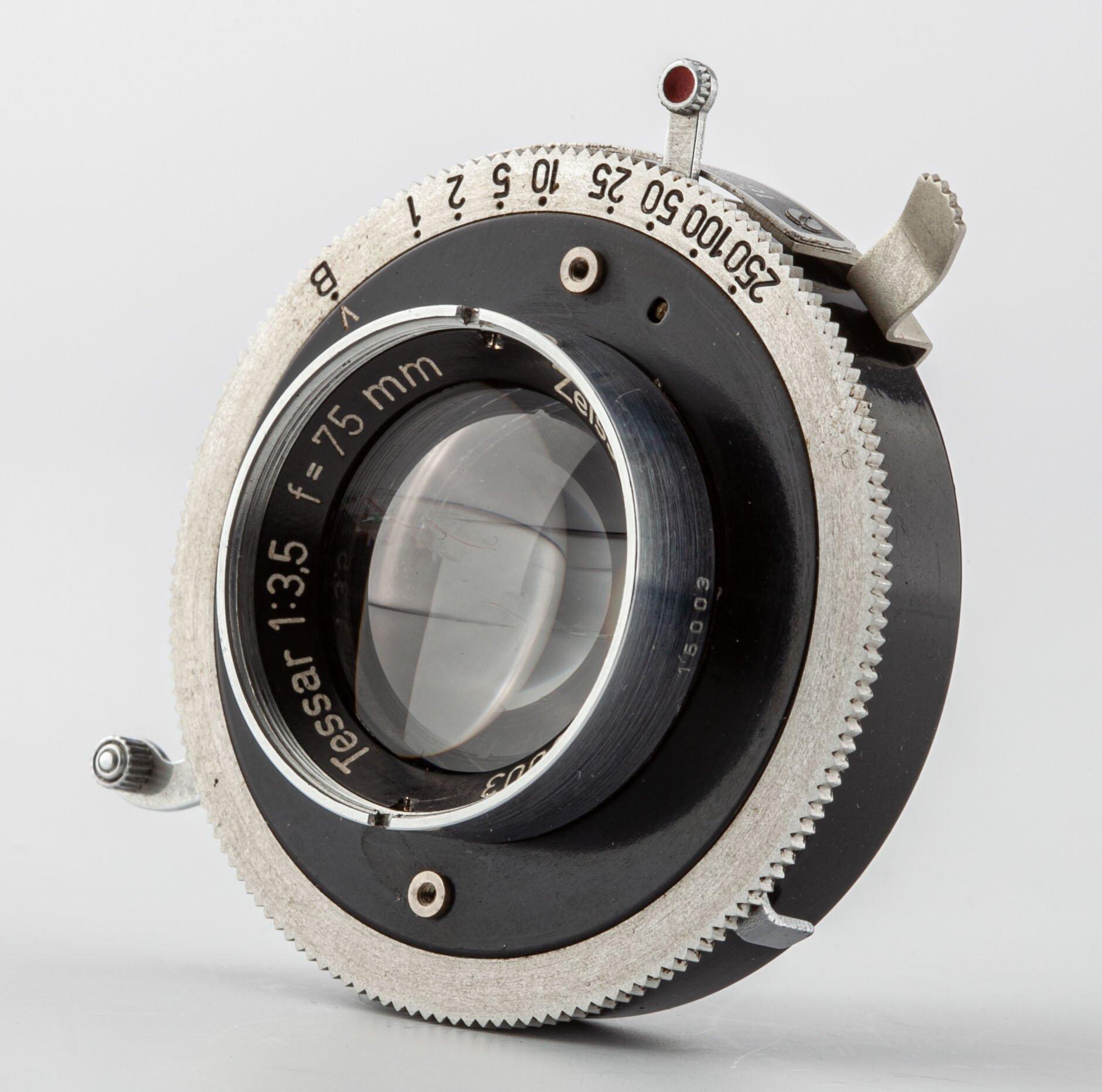 Zeiss-Opton Tessar 3,5/75mm