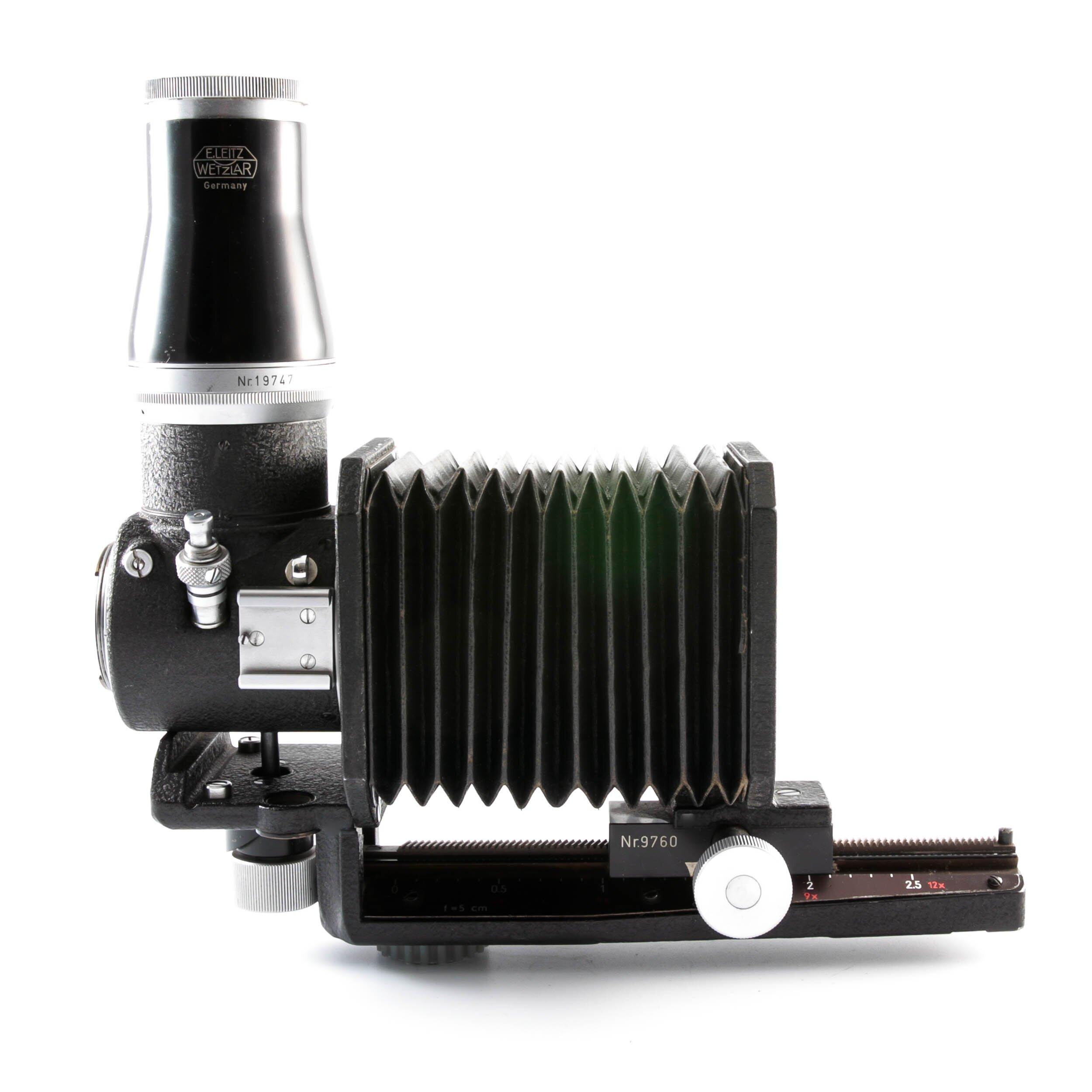 Leica Visoflex I  OZYXO mit Balgen M39