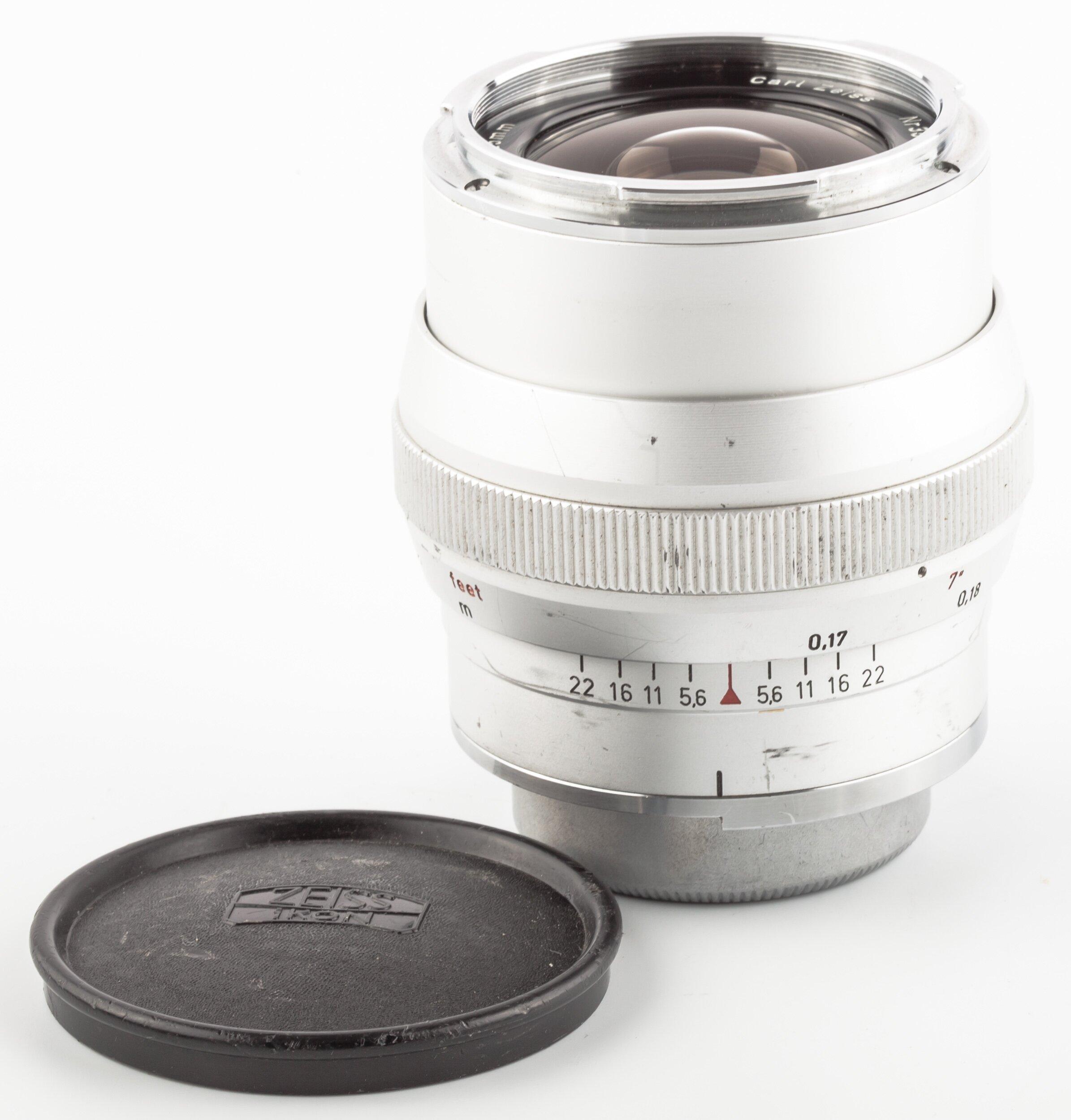 Carl Zeiss Distagon 2,8/25mm Contarex