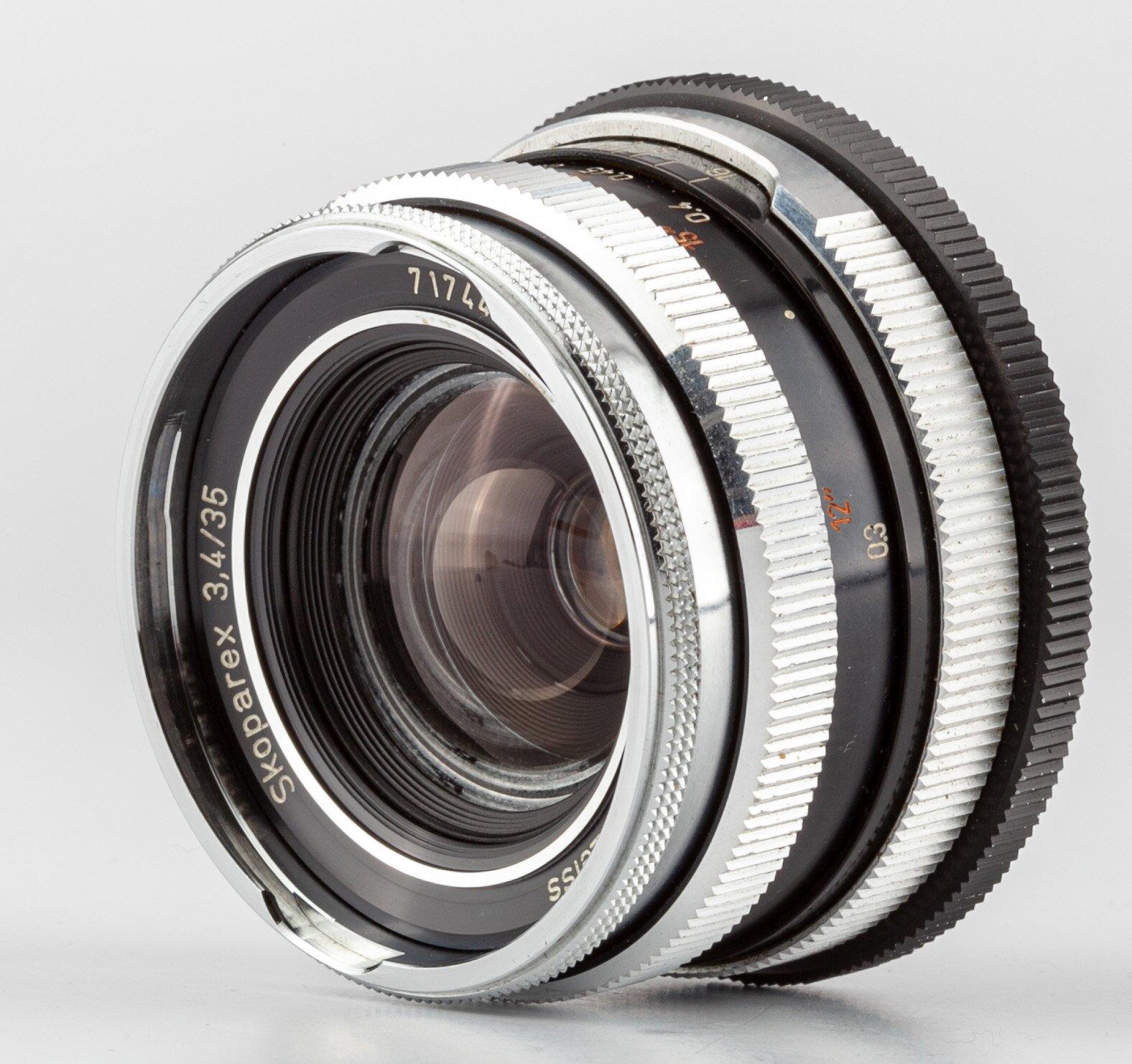 Carl Zeiss Skoparex 3,4/35mm für Icarex BM