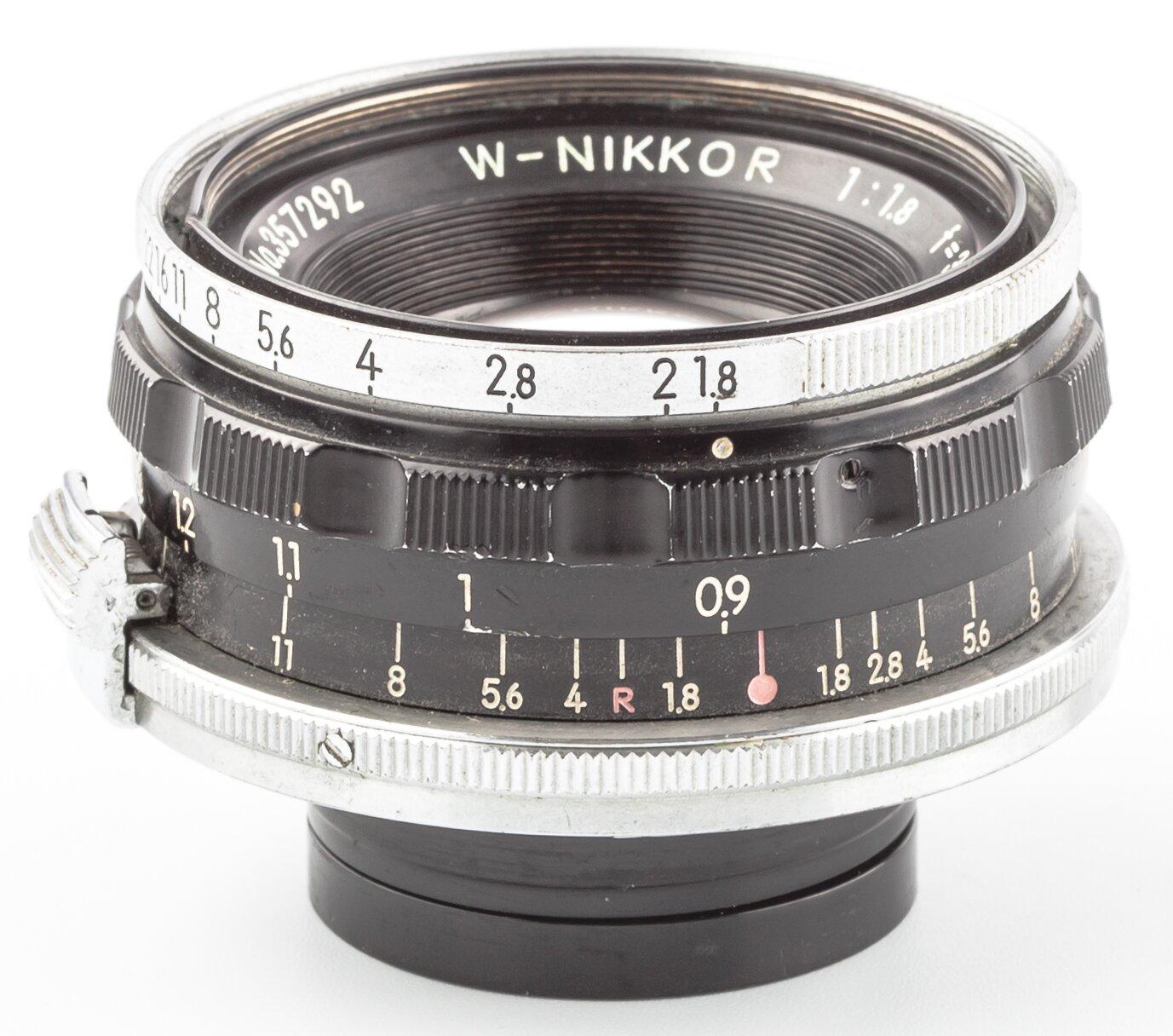 Nikon RF 1,8/3,5cm W-Nikkor Nippon Kogaku