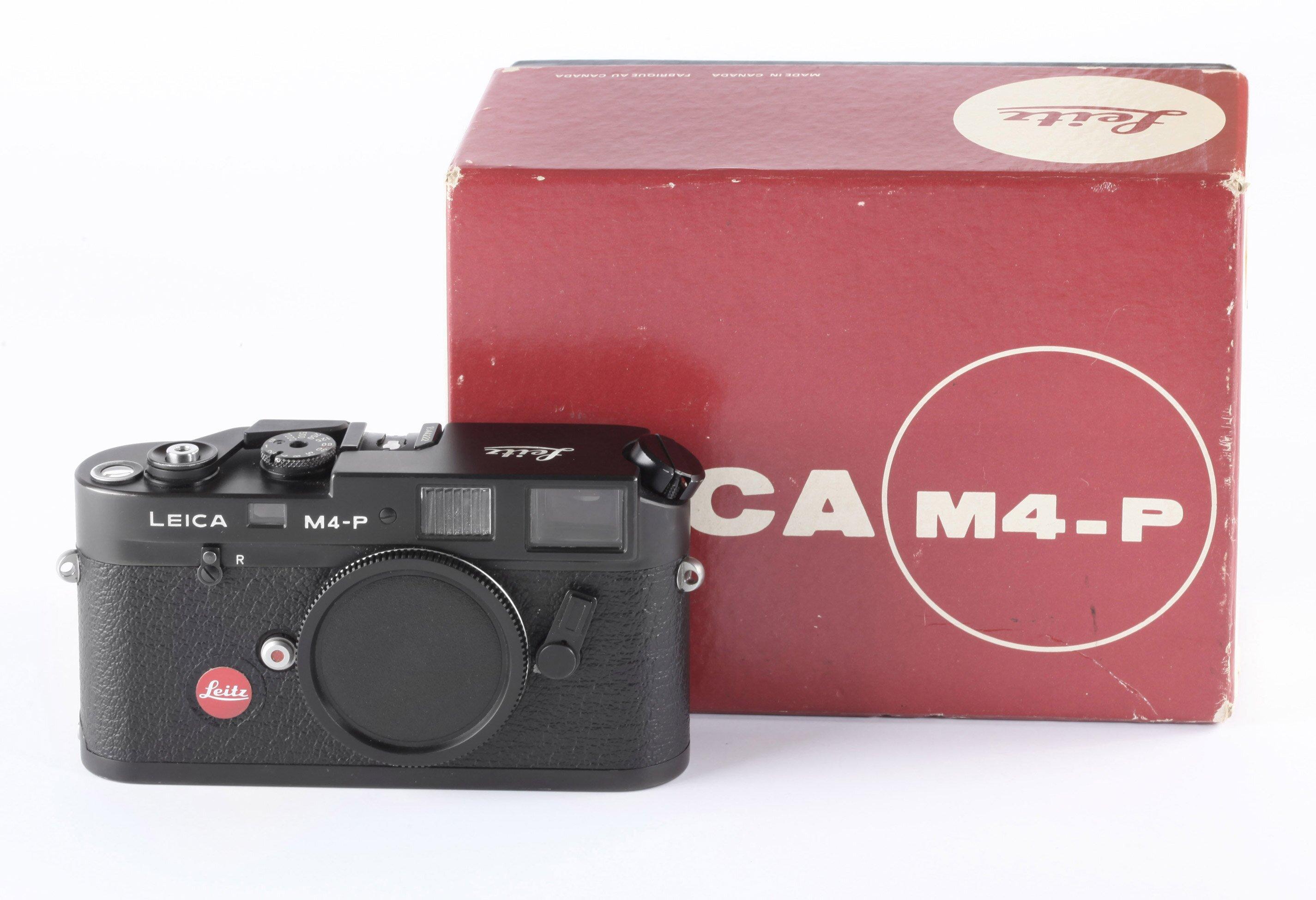 Leica M4-P black body OVP