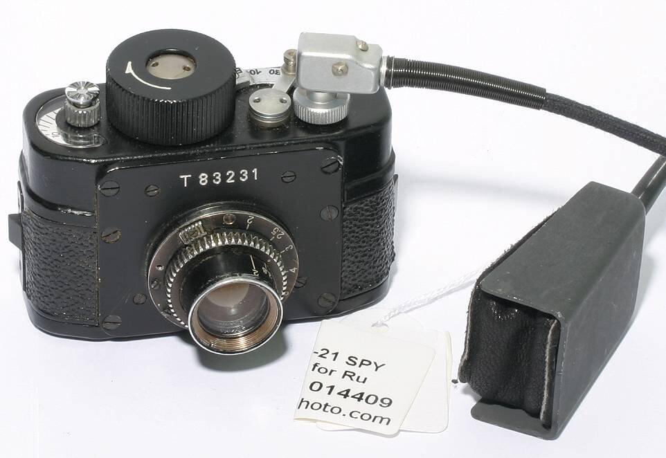 Krasnogorsk F-21 SPY camera  made for Russian KGB
