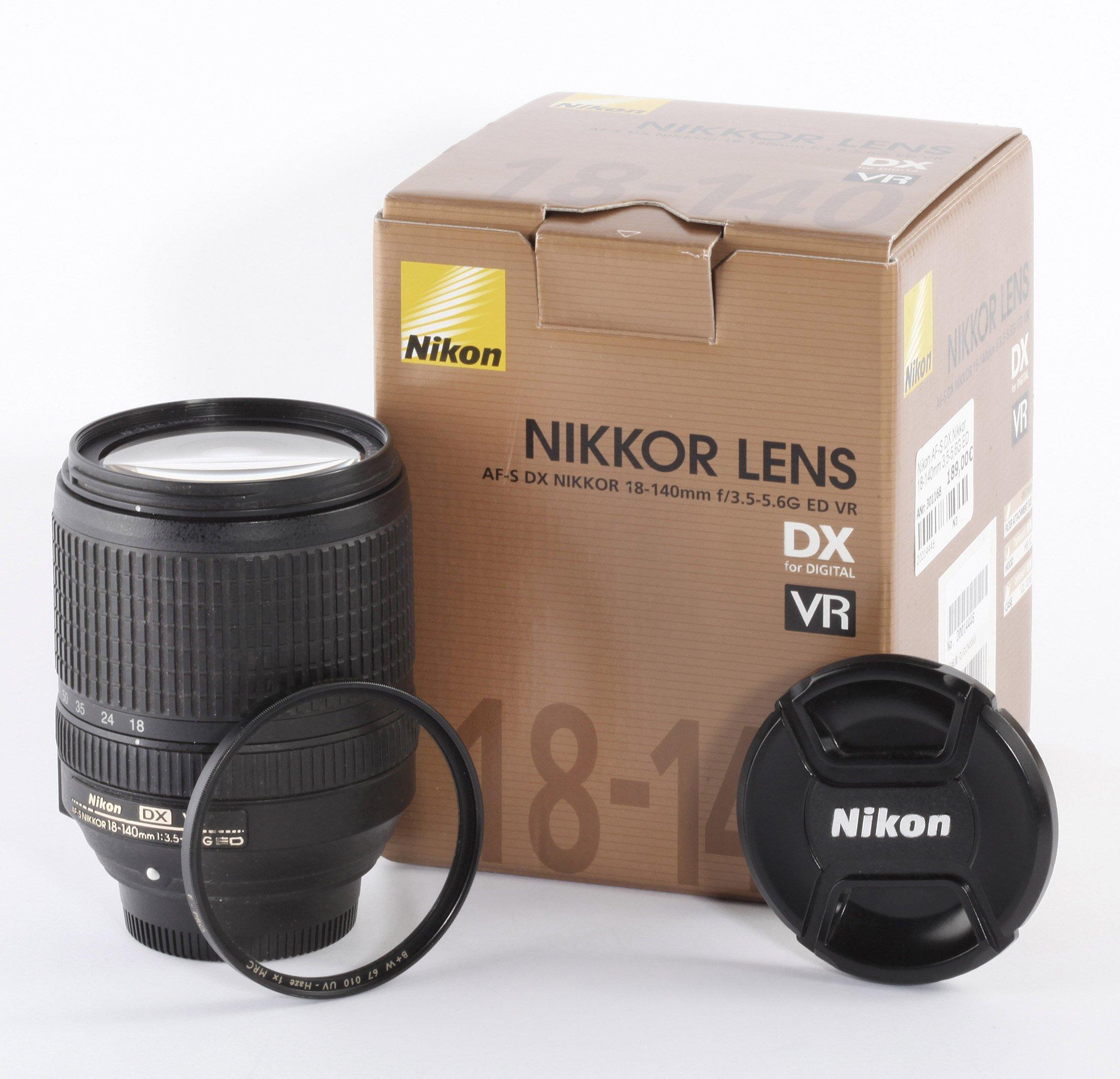 Nikon AF-S DX Nikkor 18-140mm 3,5-5,6G ED VR