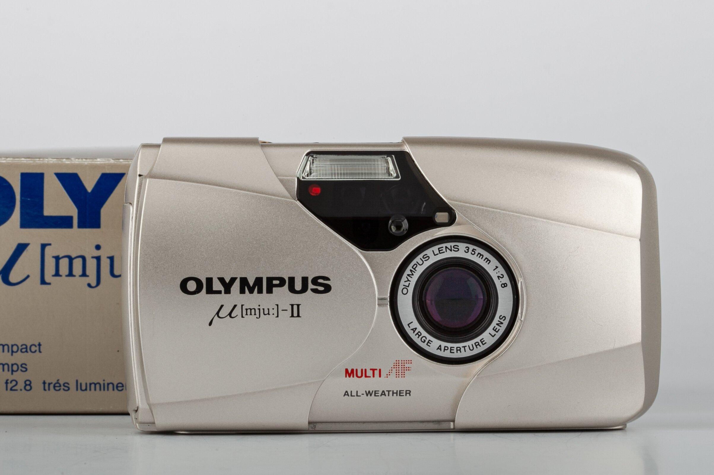 Olympus mju II 35mm/2,8 Farbe Color
