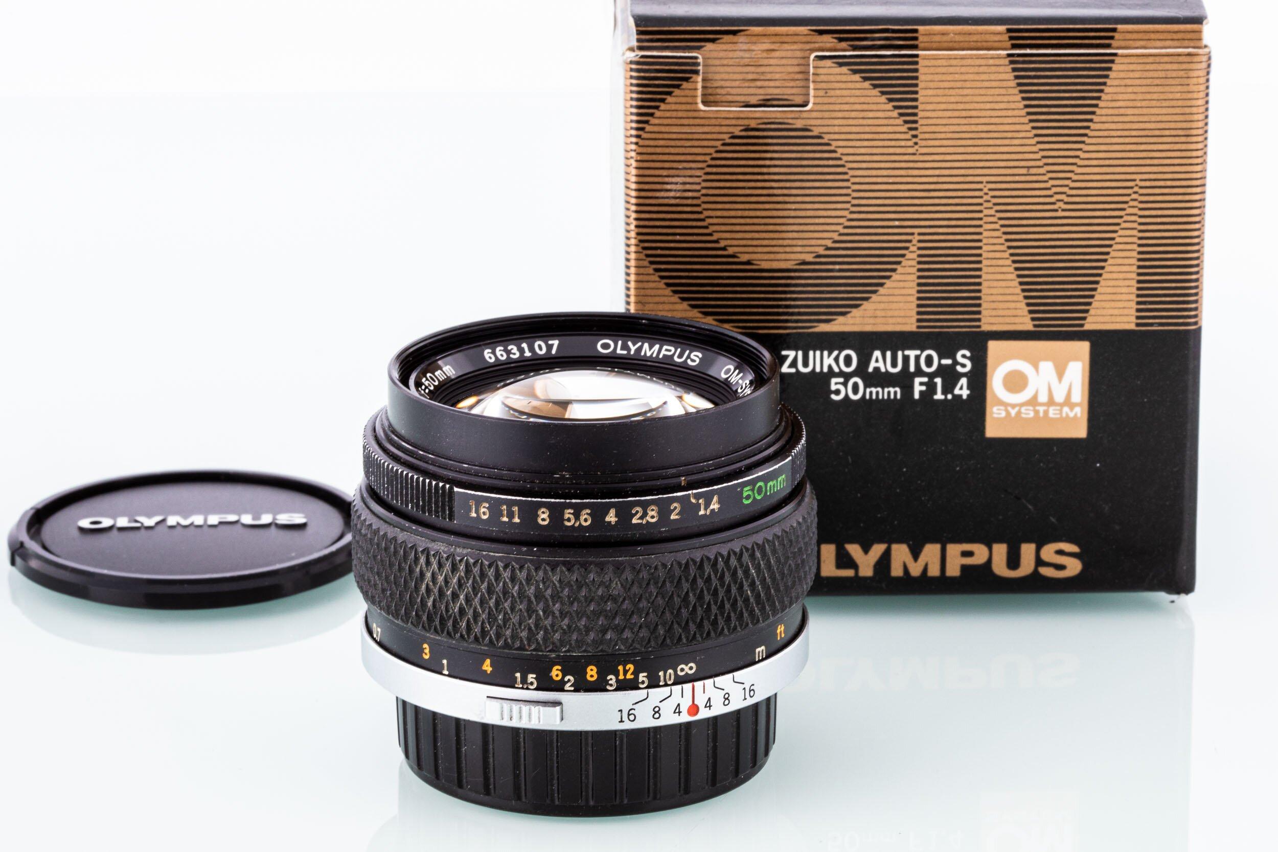 Olympus OM 50mm/1,4 G.Zuiko Auto-S