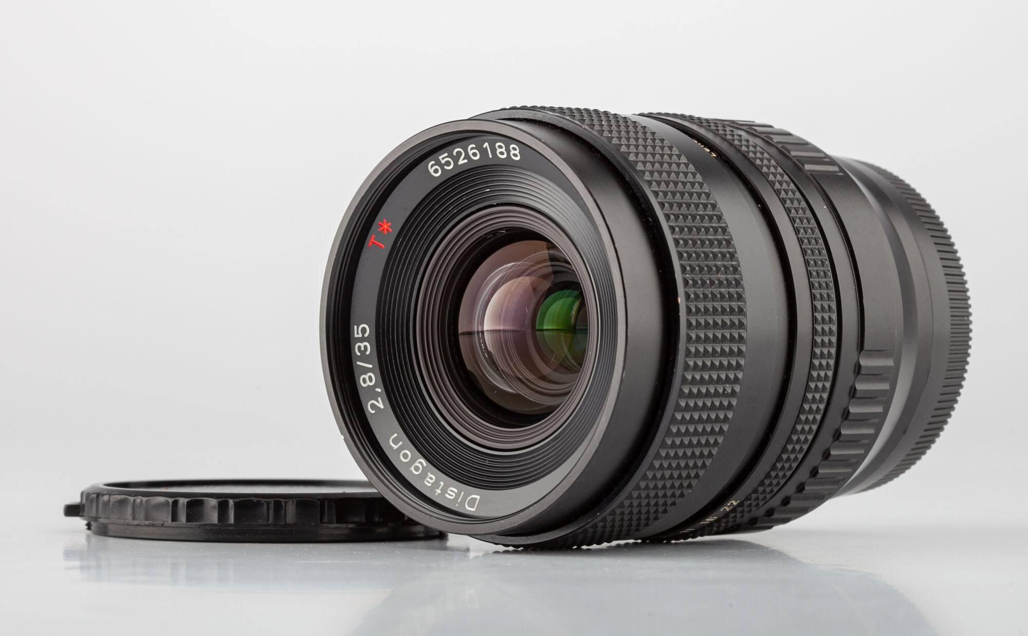 Carl Zeiss Distagon 2,8/35mm T* + Adapter für C/Y- FX
