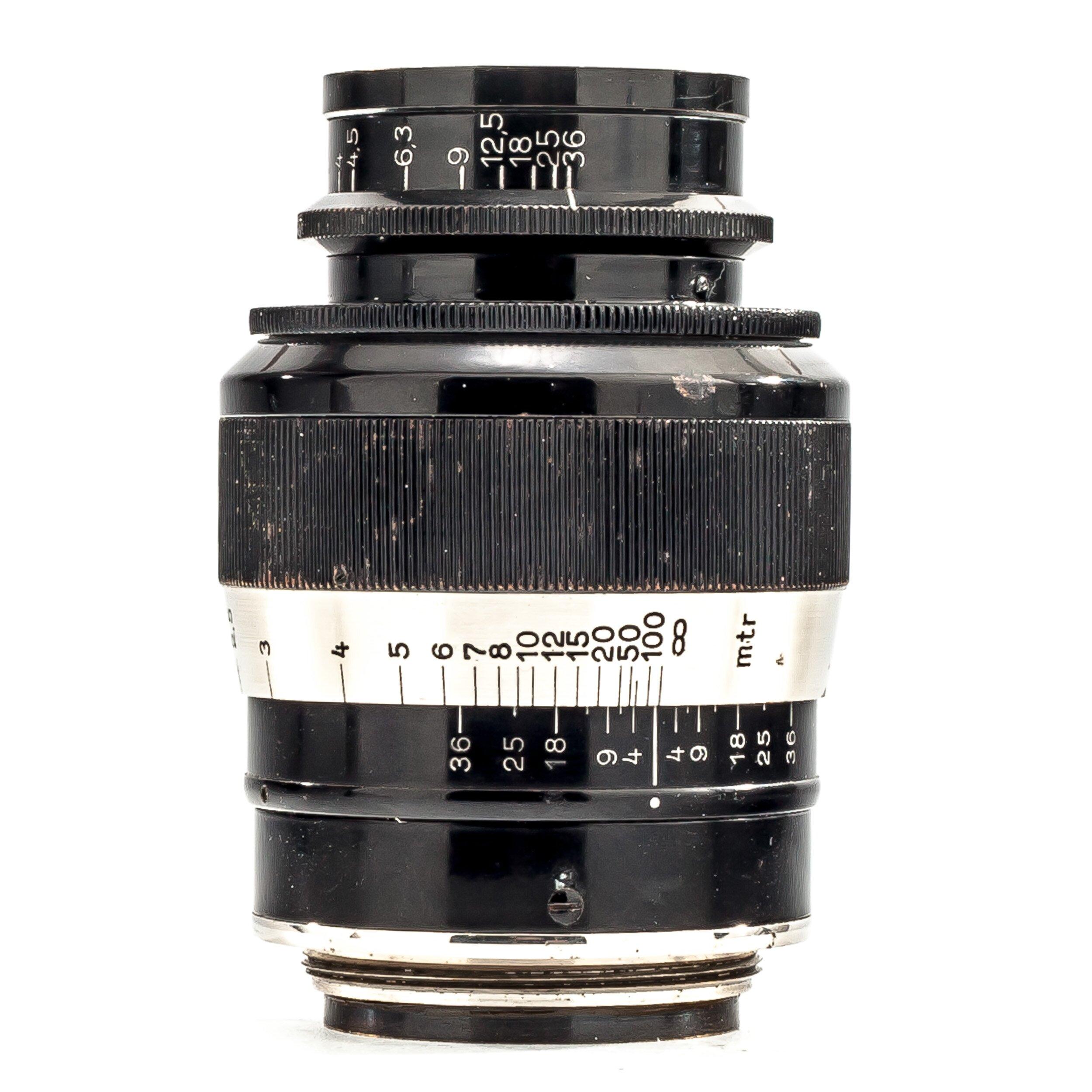 Leica Elmar 9cm F4 FAT