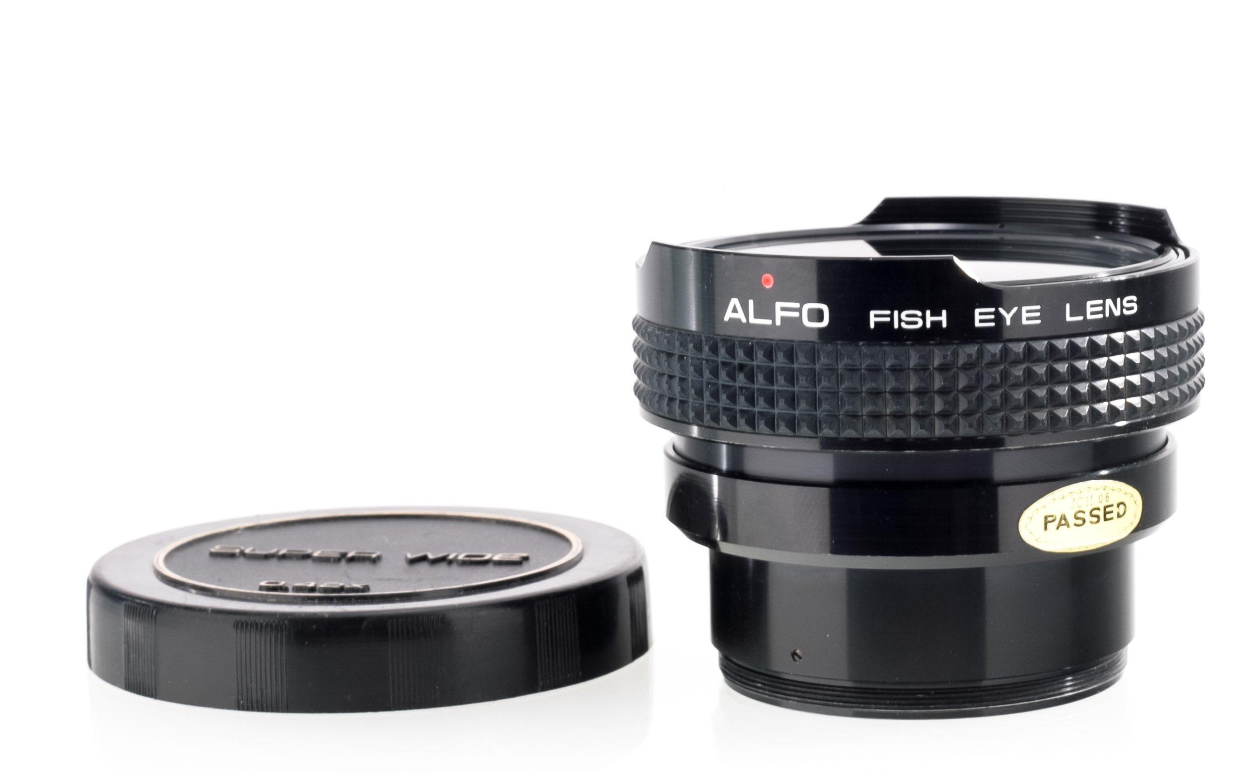 Alfo fish eye Vorsatz 0,42x S7