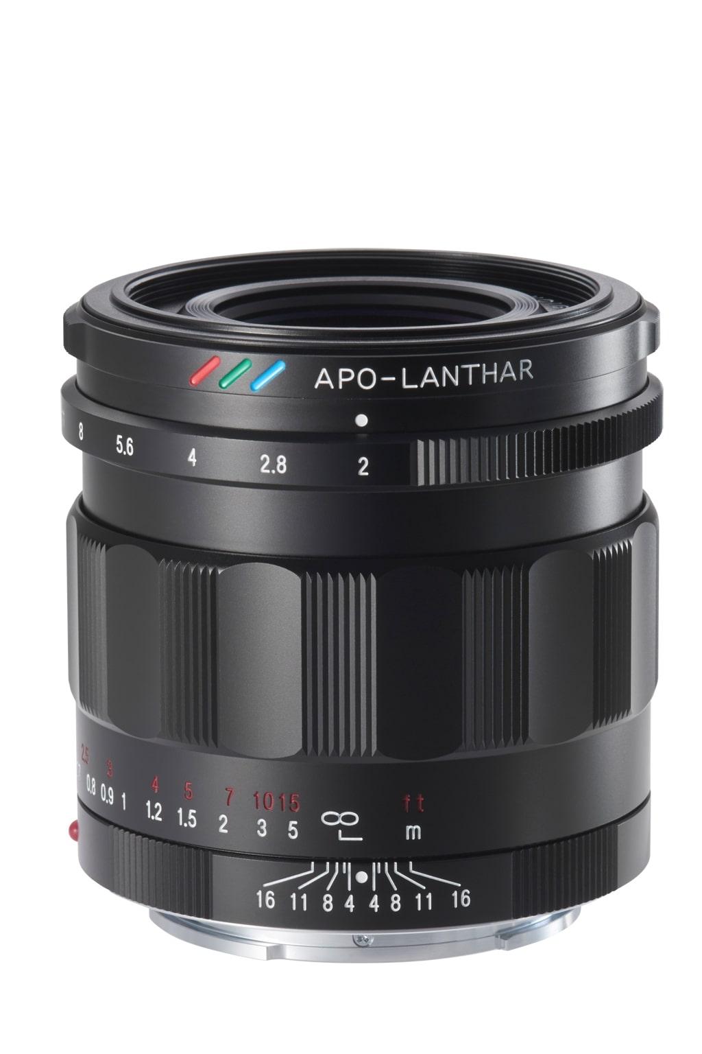 Voigtländer Sony E Mount 50mm 2,0 APO-LANTHAR schwarz