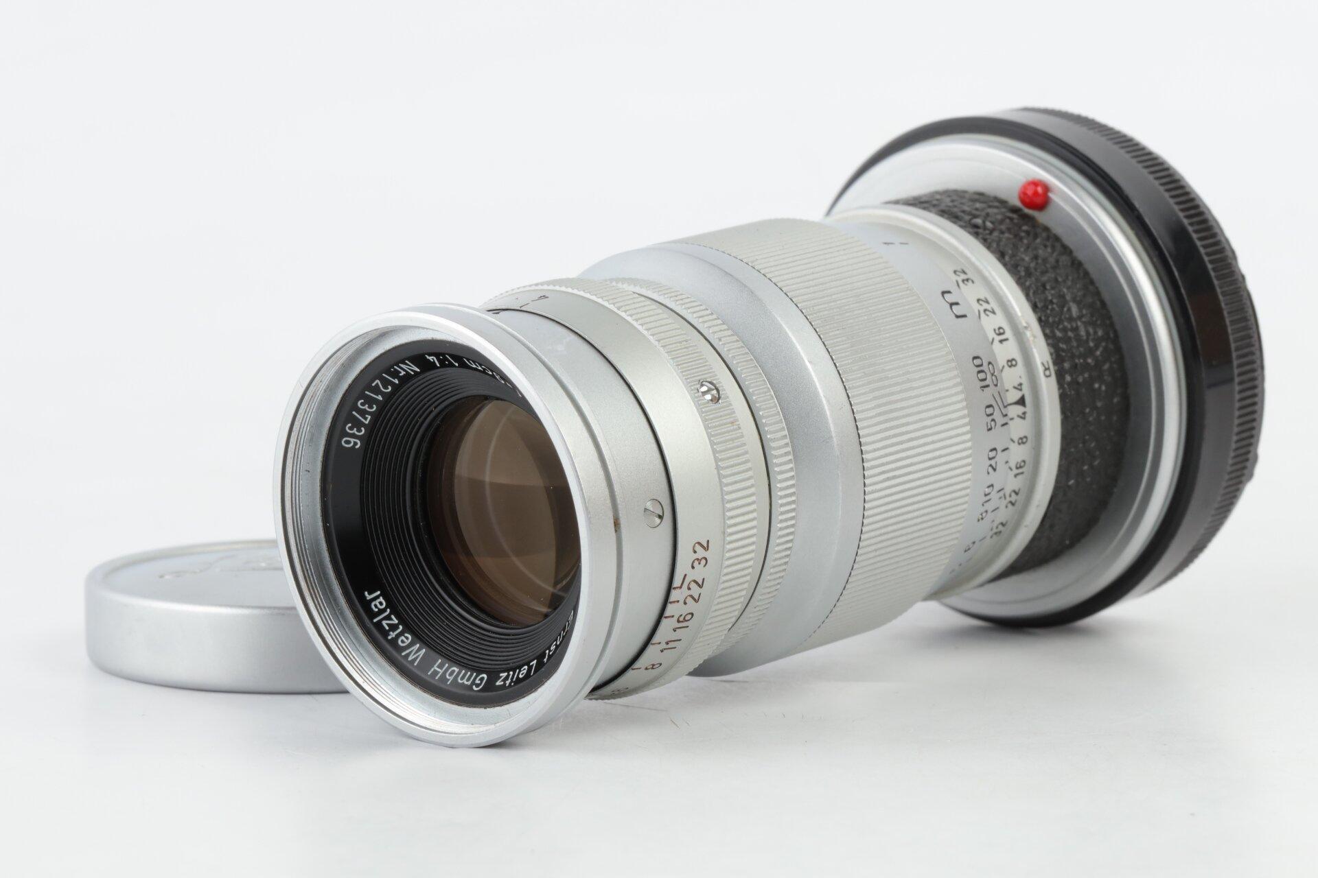 Leica Leitz Elmar M 9cm 4 chrome