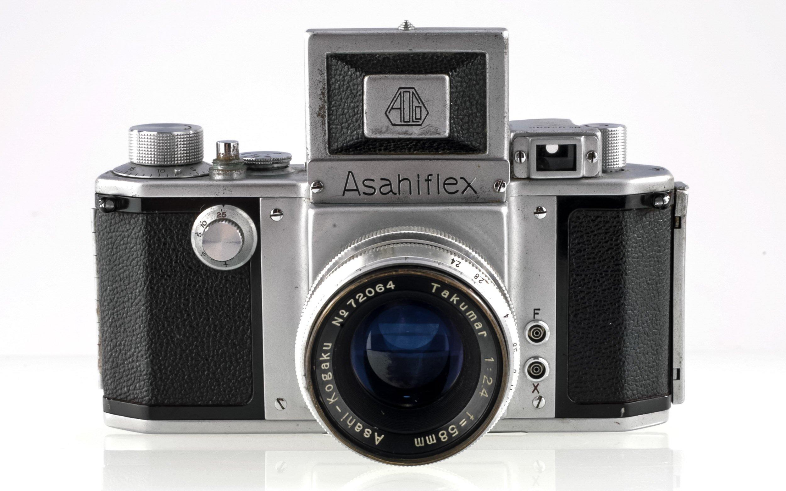 Asahiflex mit Takumar 2,4/58mm