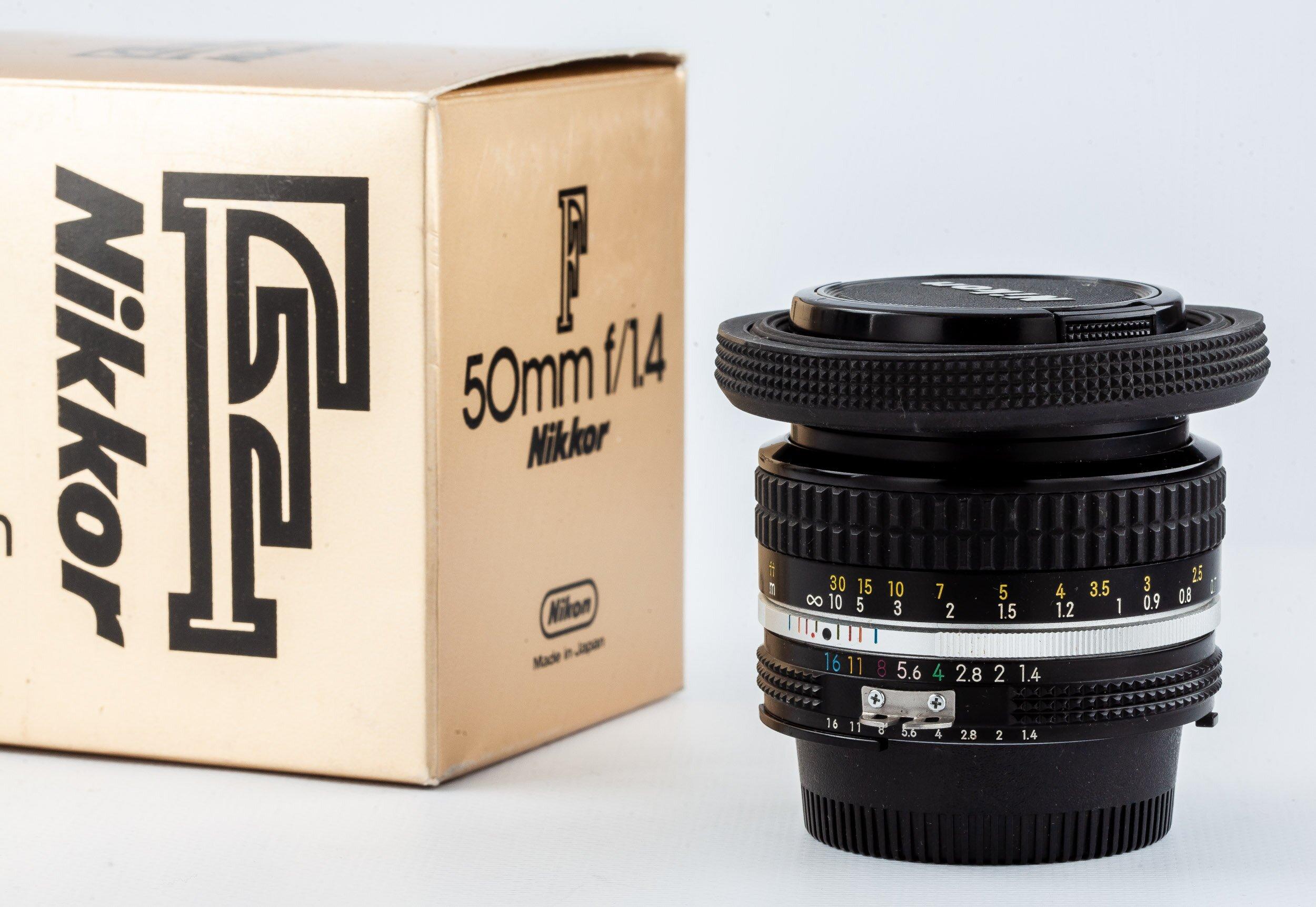 Nikon Nikkor 50mm f/1,4 AI