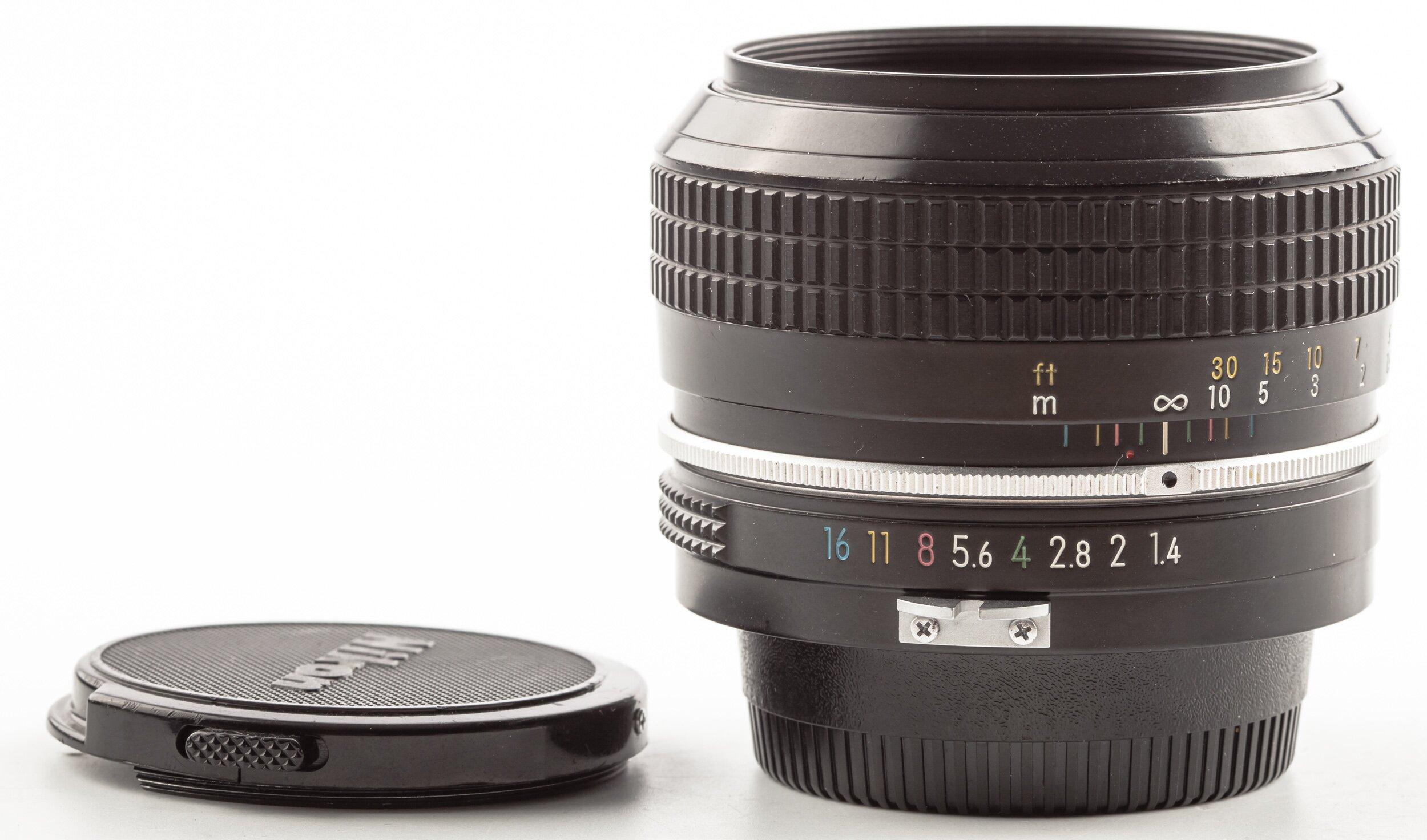 Nikon 50mm F1.4 Nikkor non AF